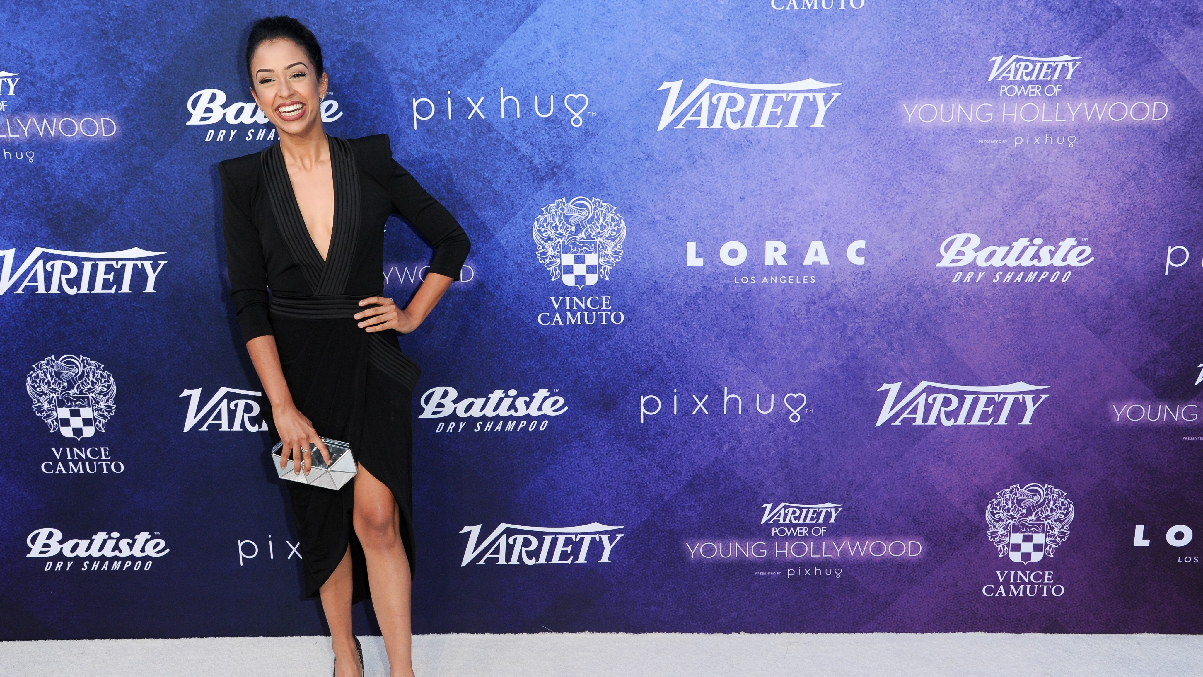 Liza Koshy attends Variety's Power of Young Hollywood event at NeueHouse Hollywood on Tuesday, Aug. 16, 2016, in Los Angeles. (Photo by Richard Shotwell/Invision/AP)