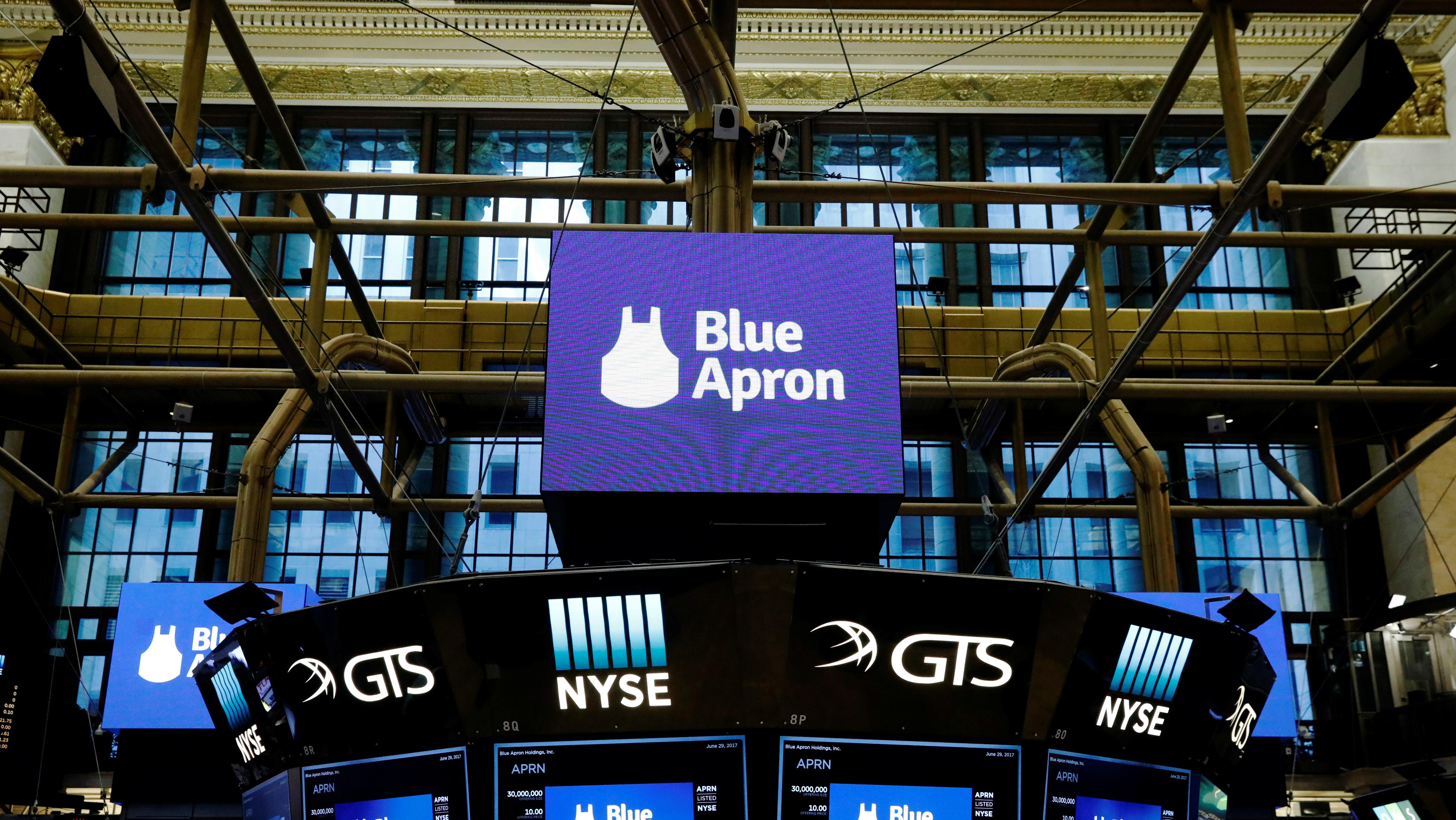 Blue Apron's wet blanket.