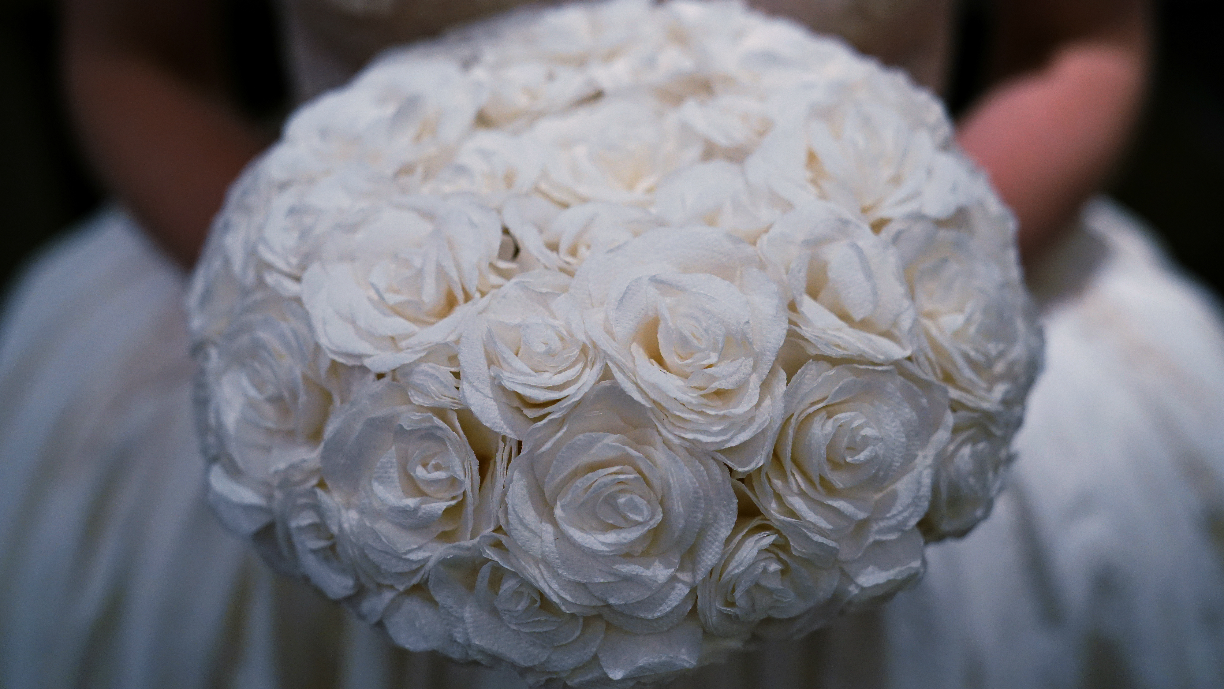 A wedding bouquet.
