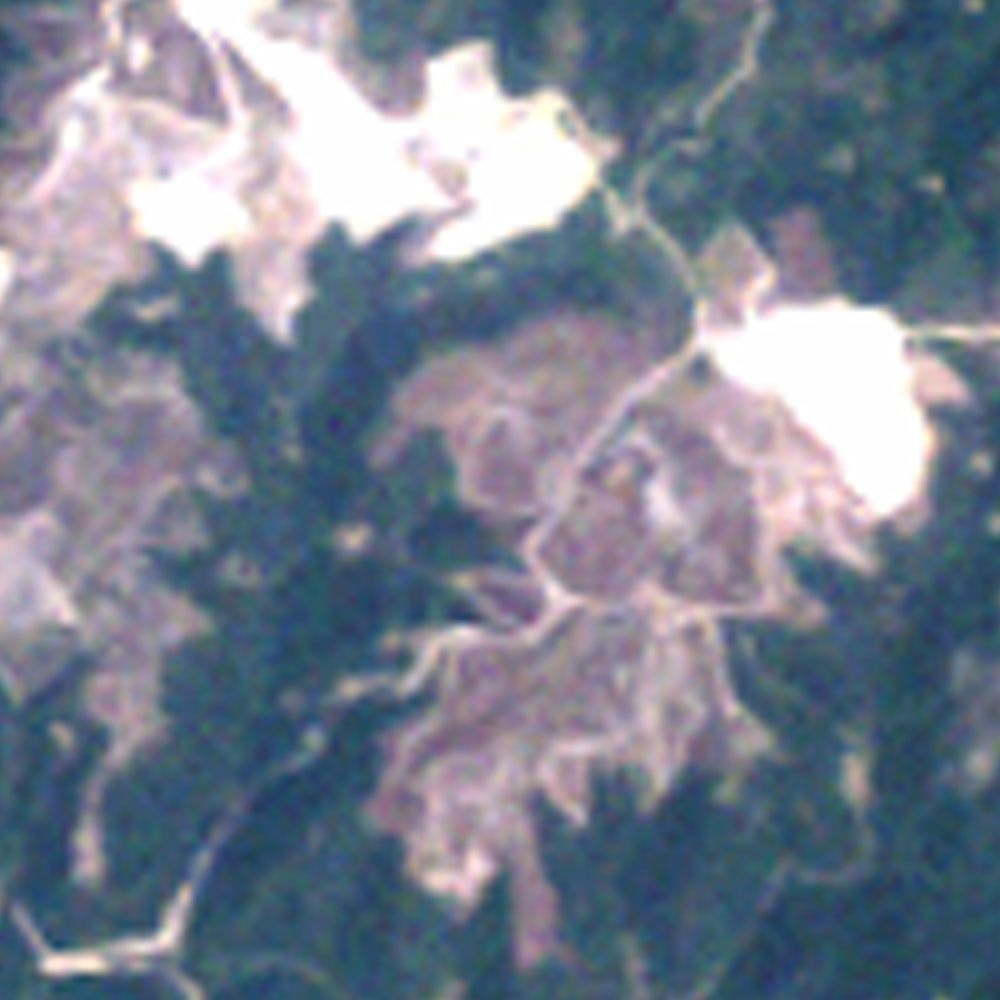 Image of the mined area in 1995