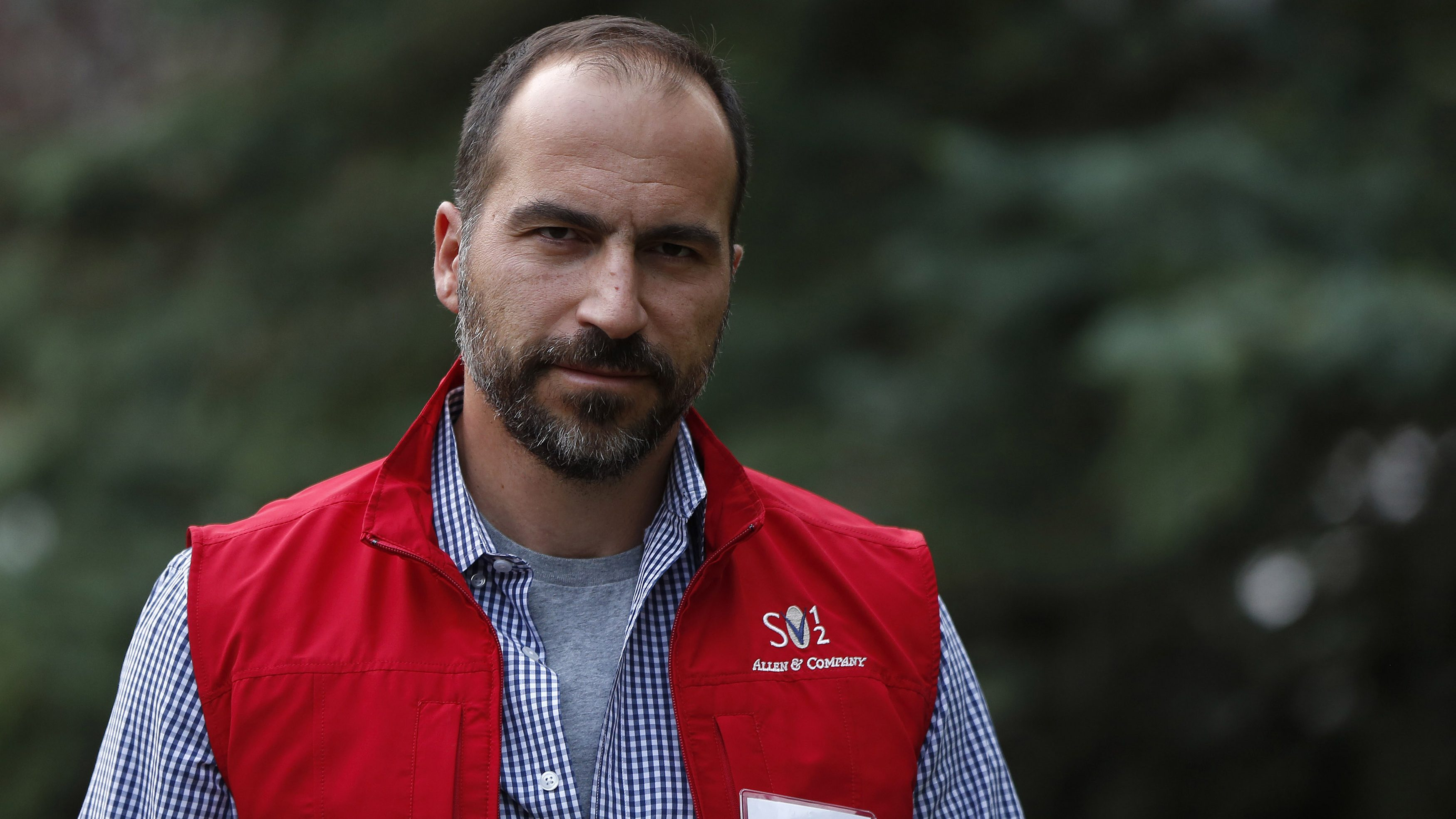 CEO of Expedia, Inc. Dara Khosrowshahi attends the Allen & Co Media Conference in Sun Valley, Idaho July 13, 2012.