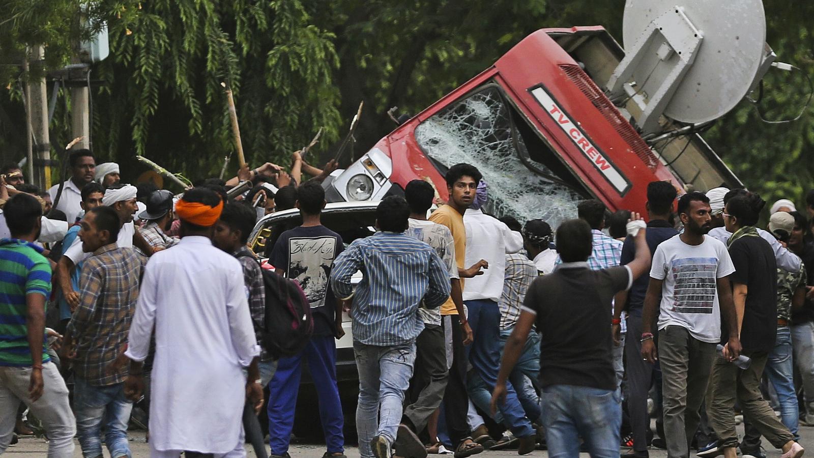 India-Gurmeet Ram Rahim-Dera Sacha Sauda-Rape-Violence-Chandigarh-Panchkula-New Delhi