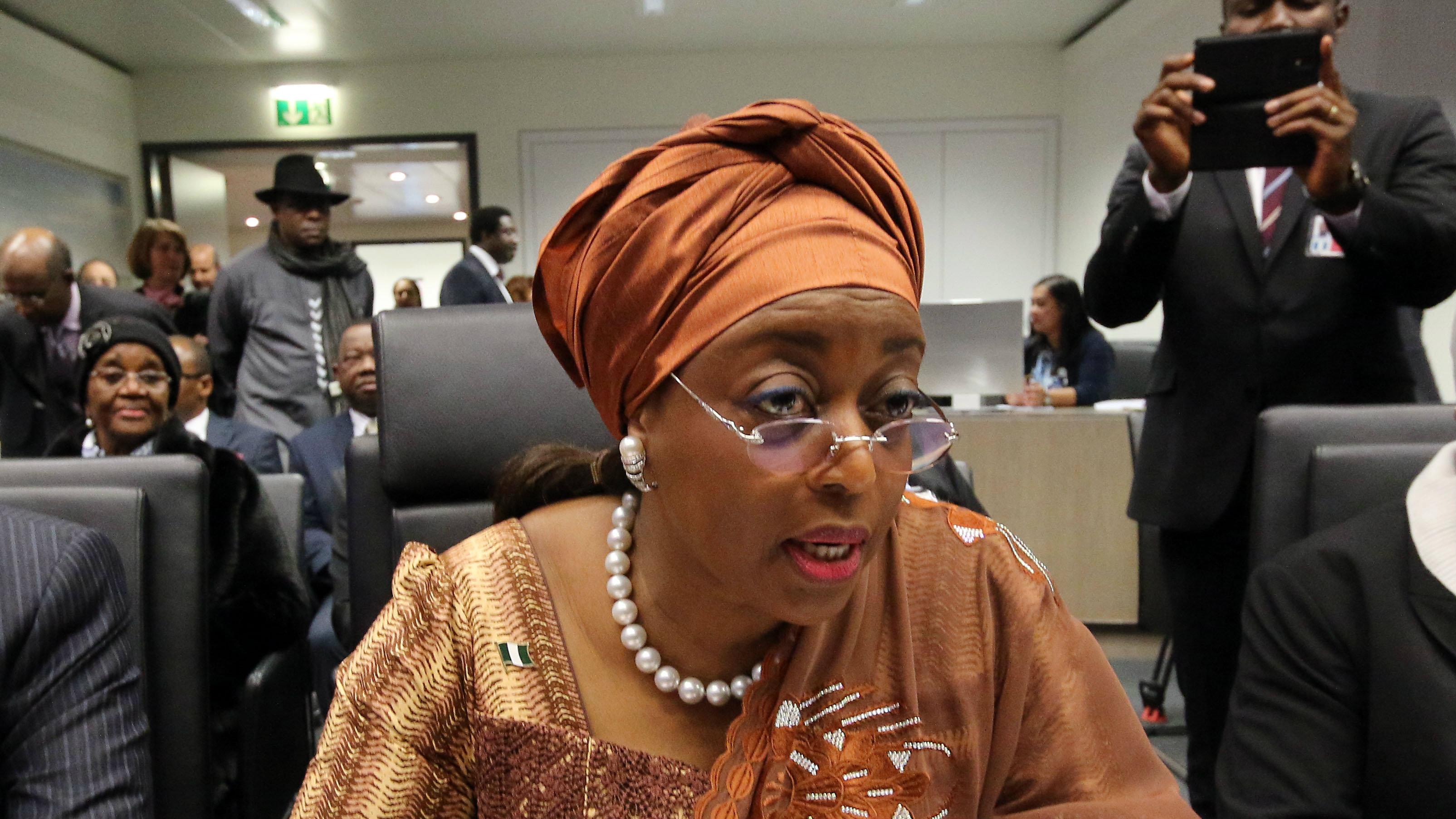 Diezani Alison-Madueke: Nigeri...