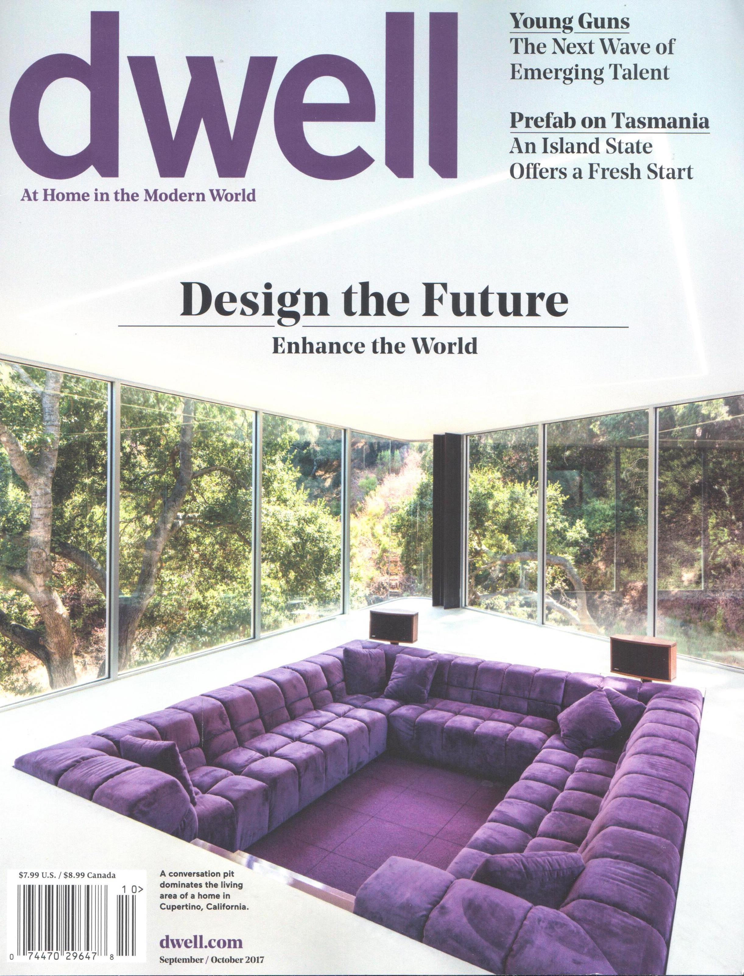 Great Dwell Magazine Cover Coversation Pit Cupertino California Patricia Urquiola  Tufty Time Sofa For Bu0026B