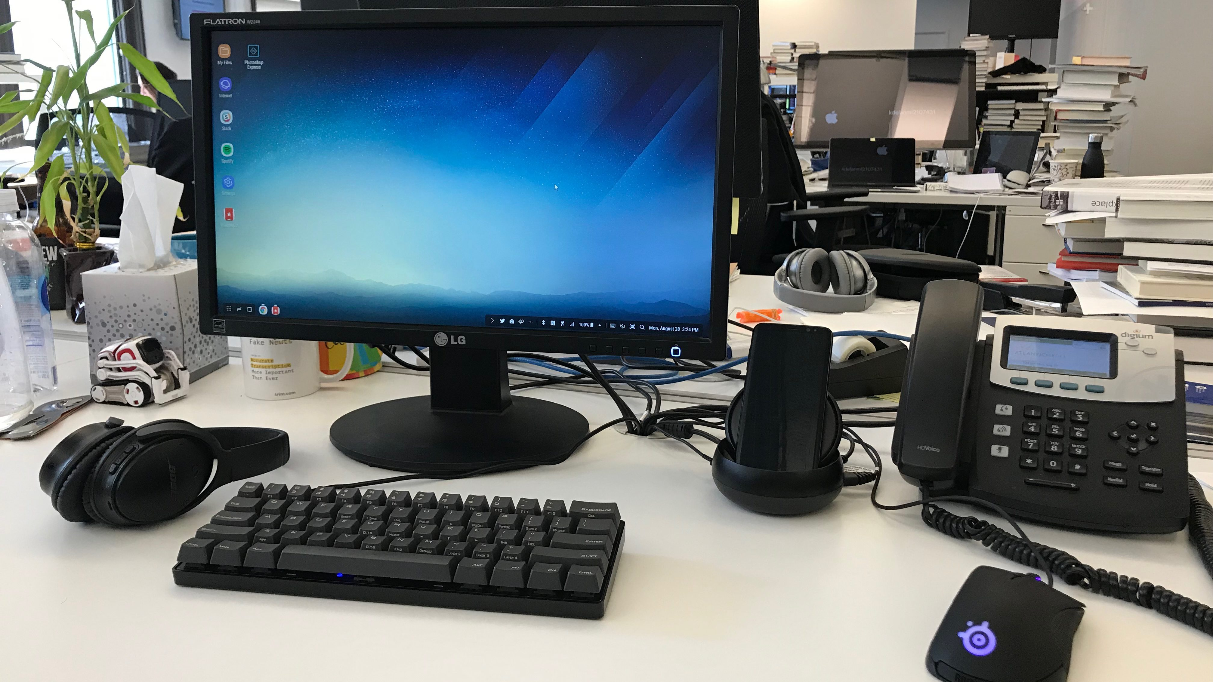samsung dex review samsung dex turns your s8 or note 8 smartphone