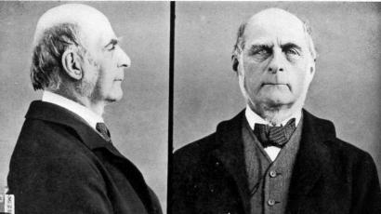Photos of Francis Galton.