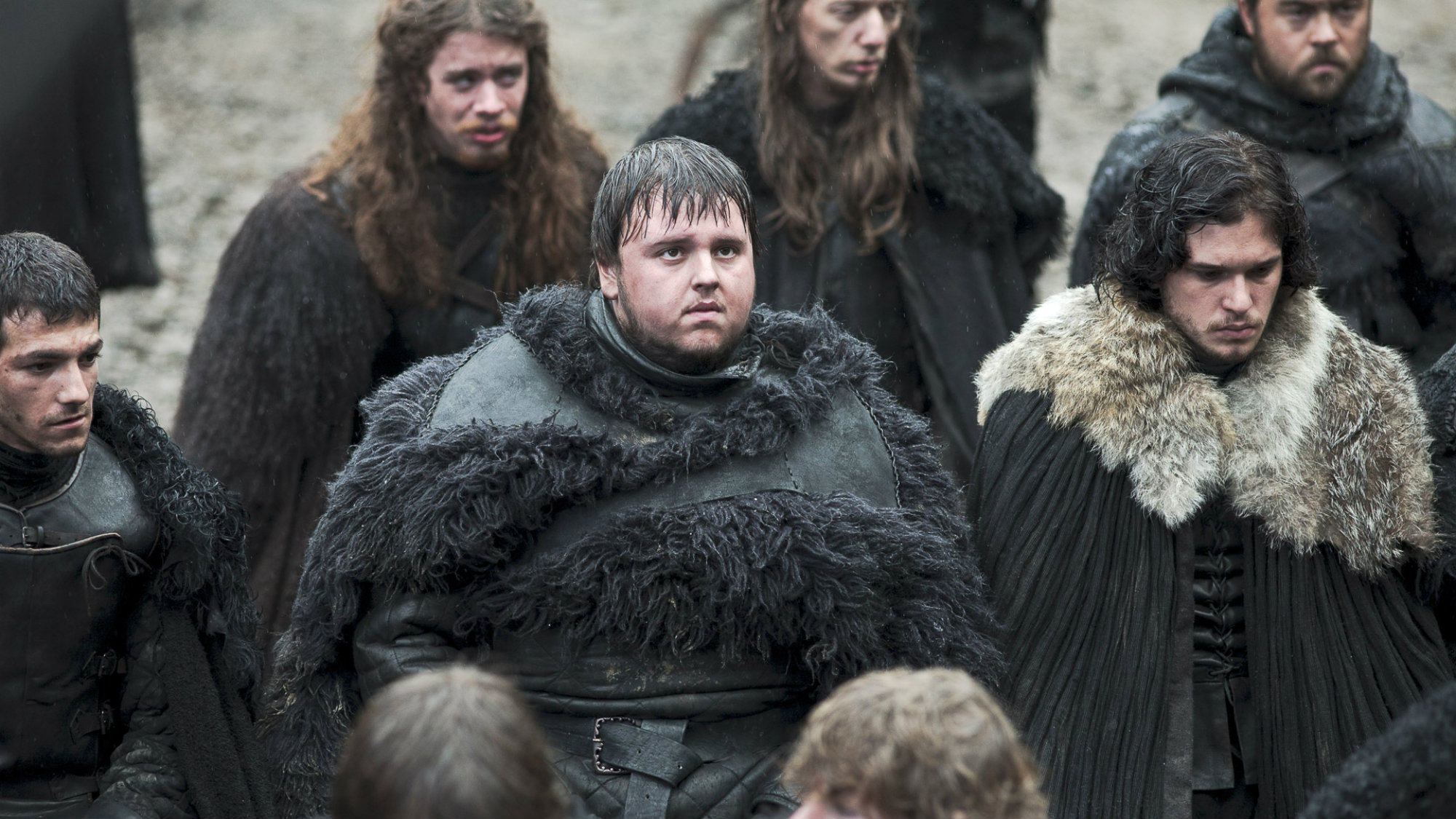 """Publicity still from HBO's Game of Thrones Season 1, Episode 7, """"You Win or You Die"""""""