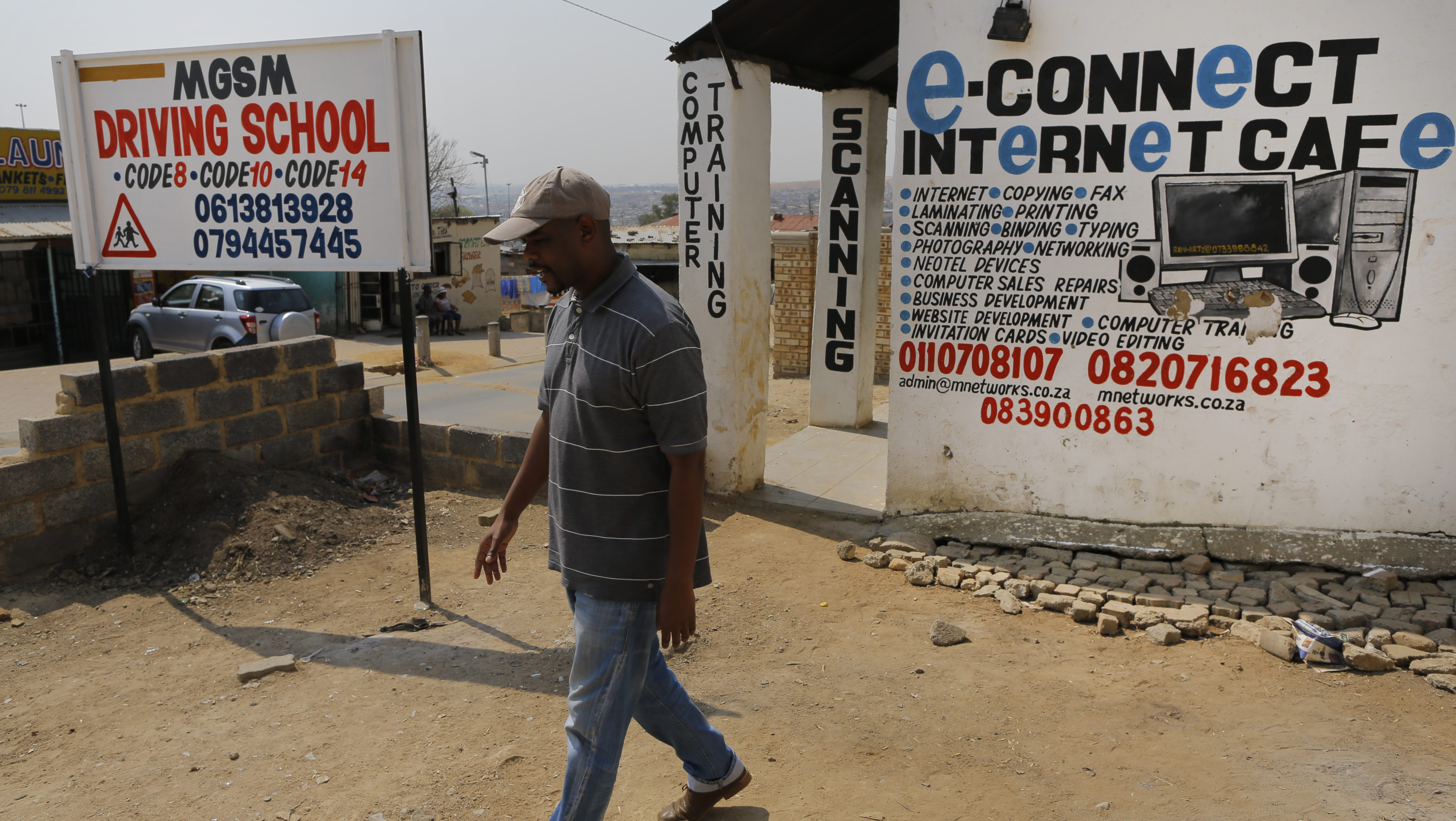 African countries have the slowest internet speeds, says a new