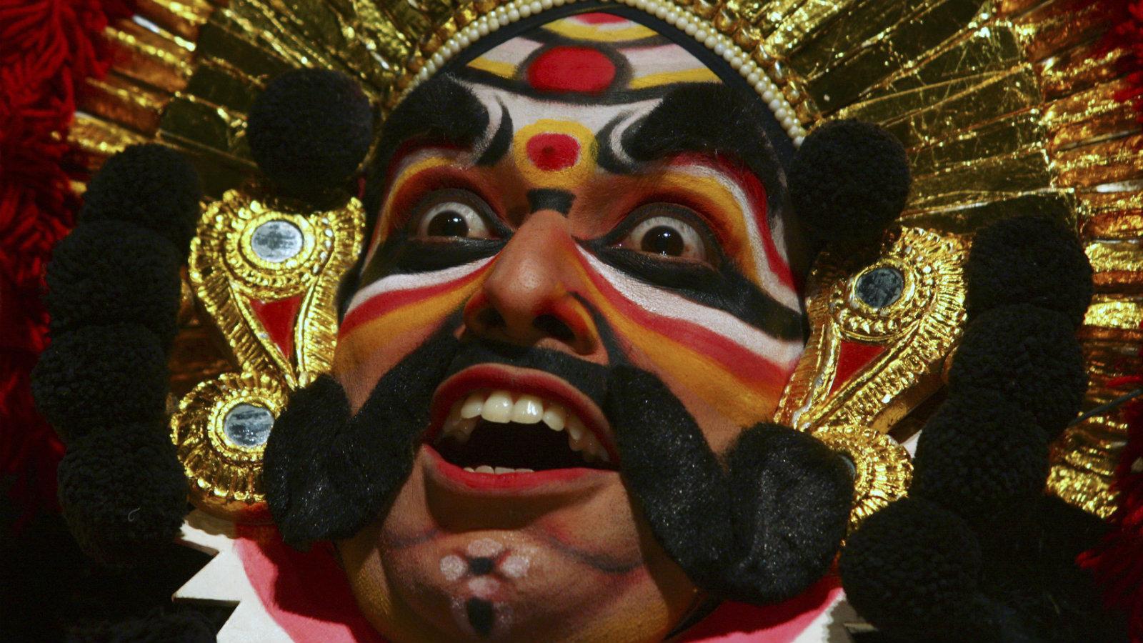 A Yakshagana performance.
