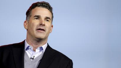 Founder and CEO of Under Armour Kevin Plank speaks during an IBM keynote address at the 2016 CES trade show in Las Vegas, Nevada