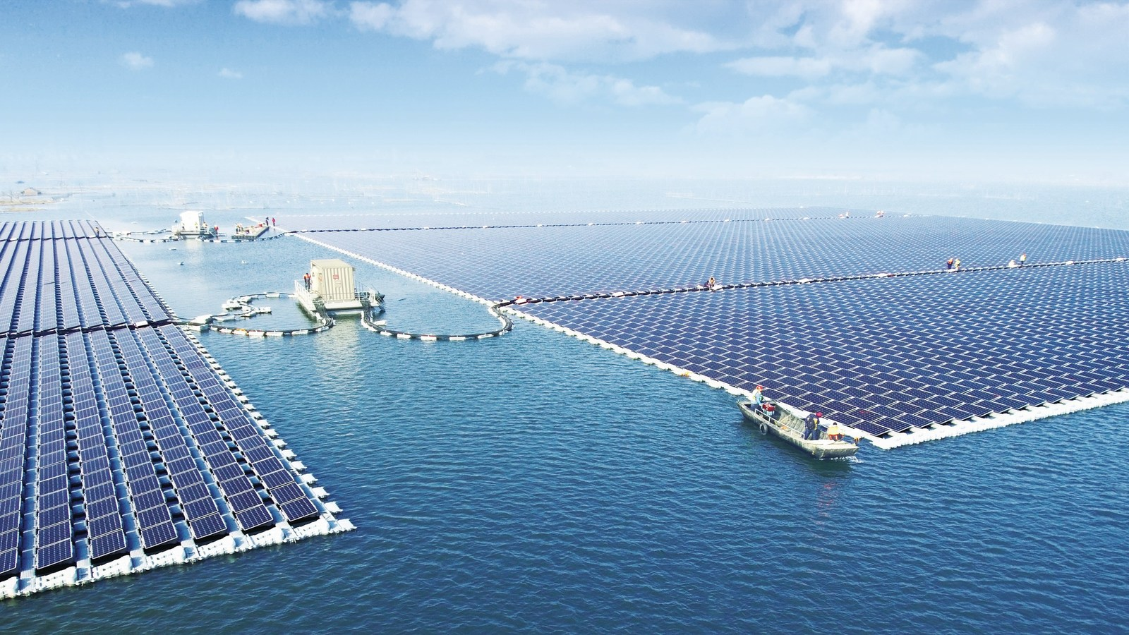 40MW Floating PV Power Plant (PRNewsfoto/SUNGROW Power Supply Co., Ltd)