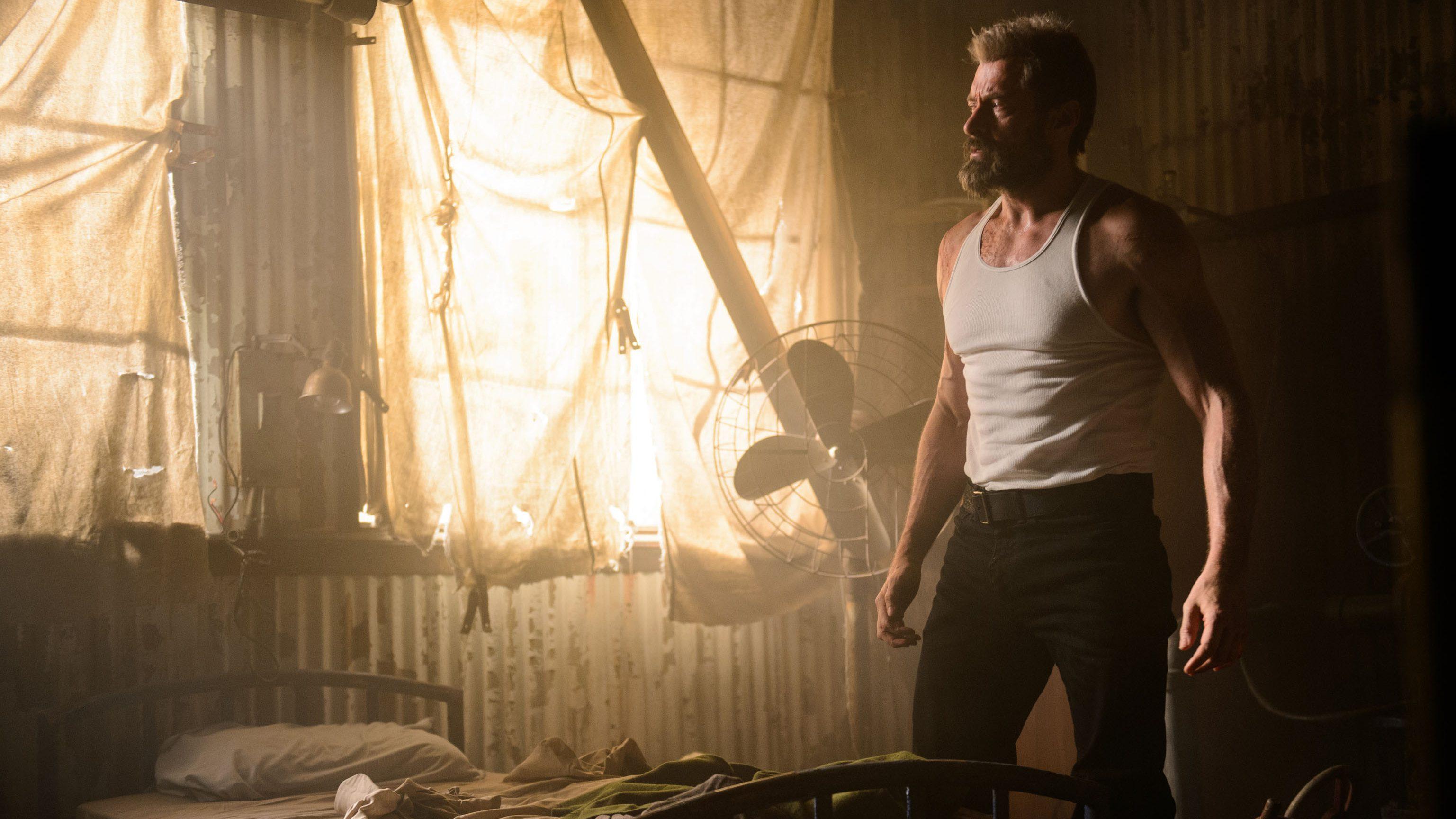 DF-02972 - Hugh Jackman stars as Logan in LOGAN. Photo Credit: Ben Rothstein.