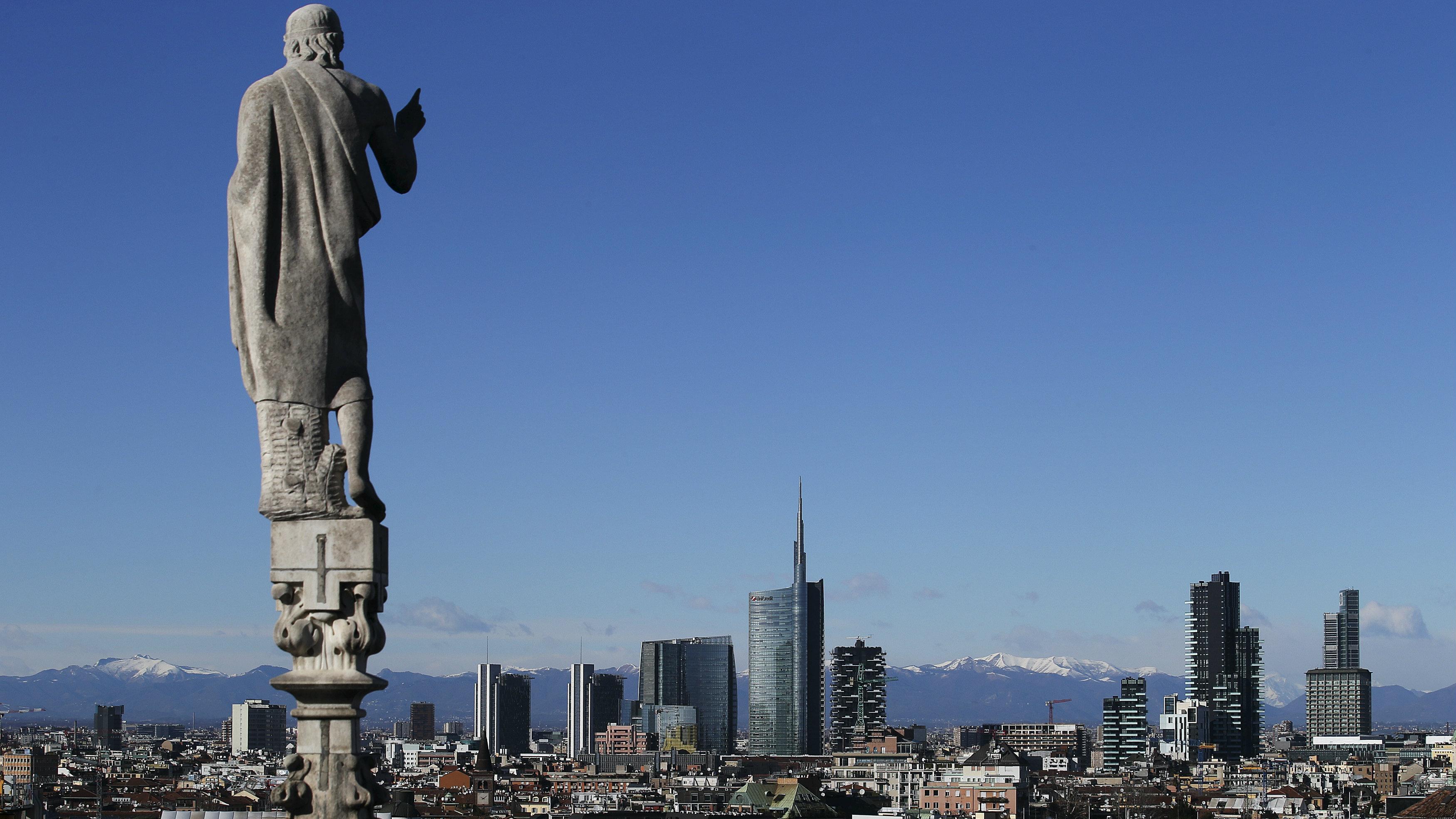 Skyline of Porta Nuova, Milan's business district