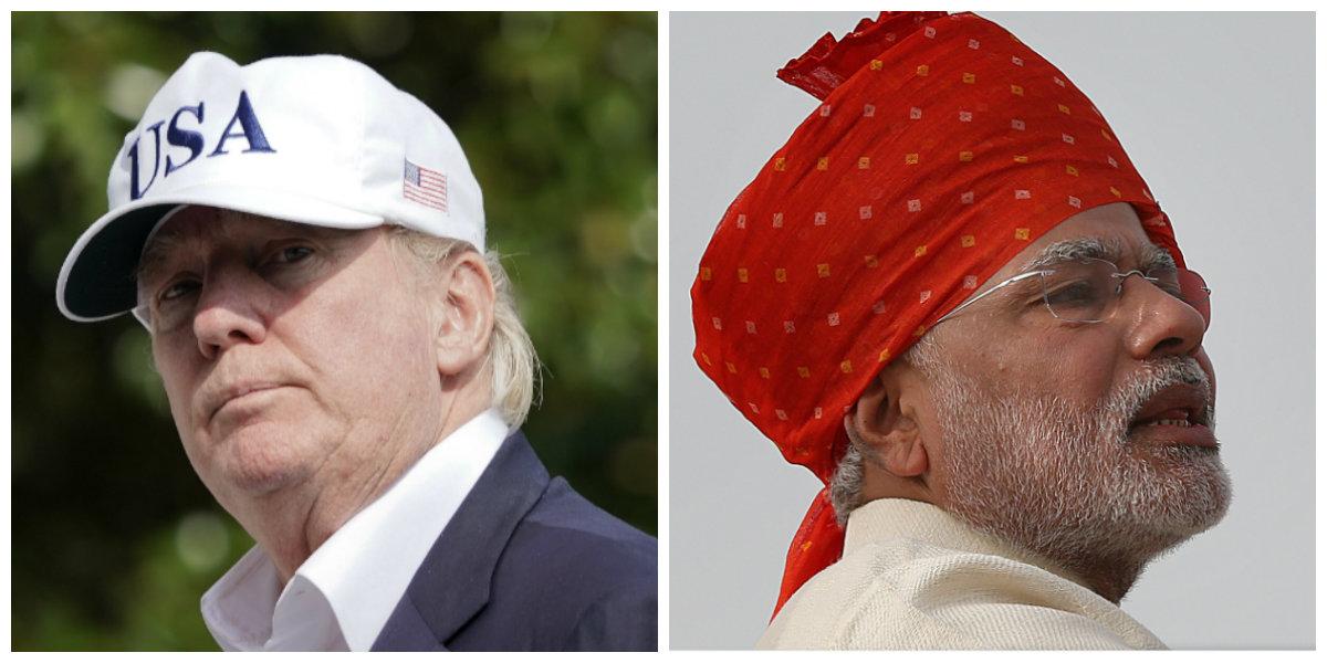 India-Modi-Trump
