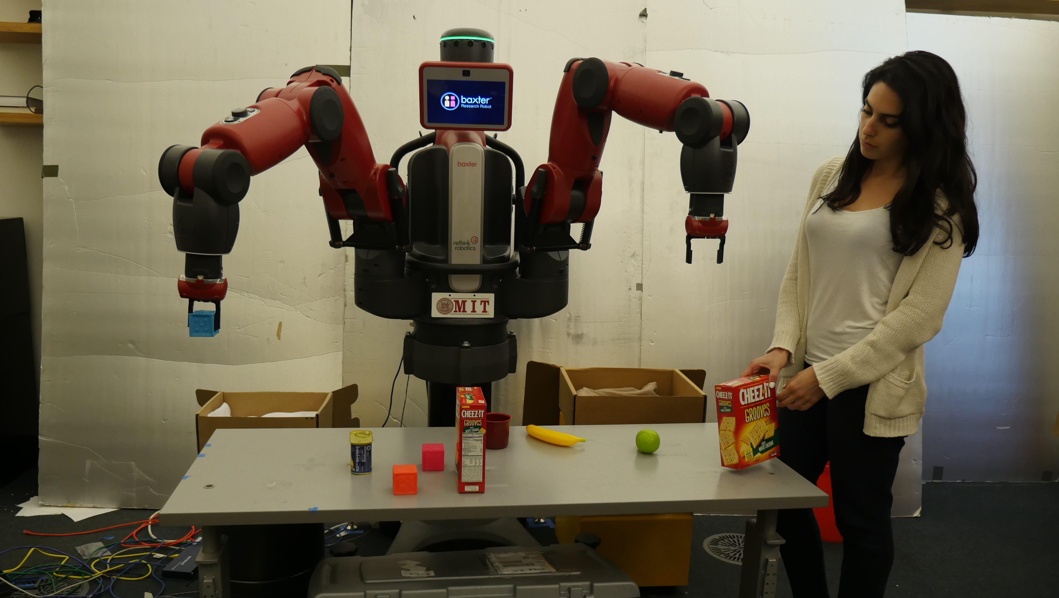 Baxter Echo robot Amazon MIT
