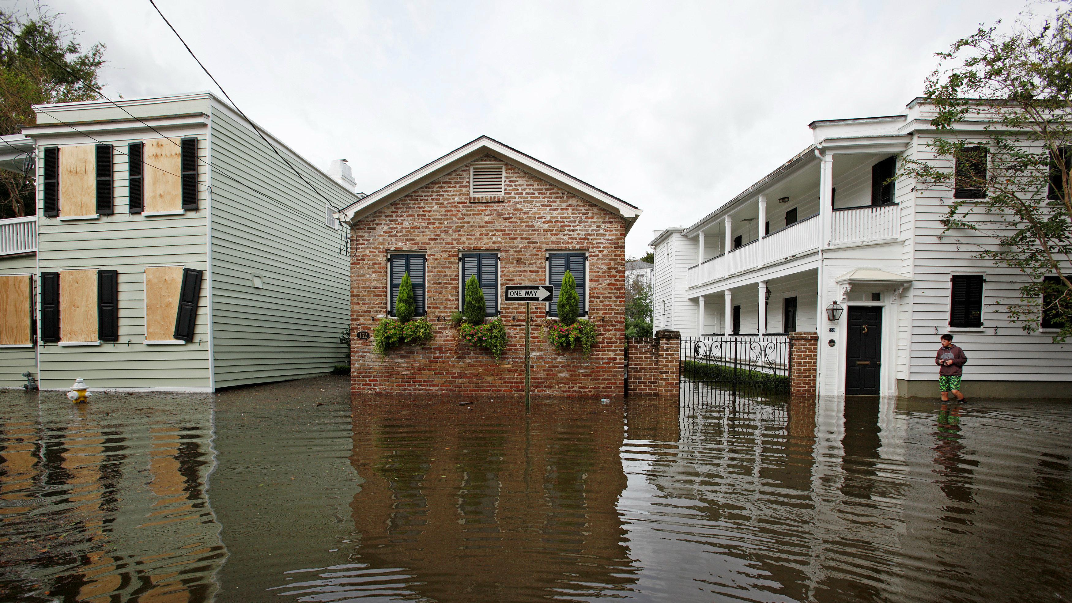 Hurricane Harvey Houston flooding