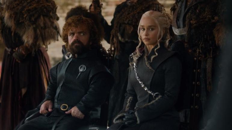 daenerys tyrion game of thrones