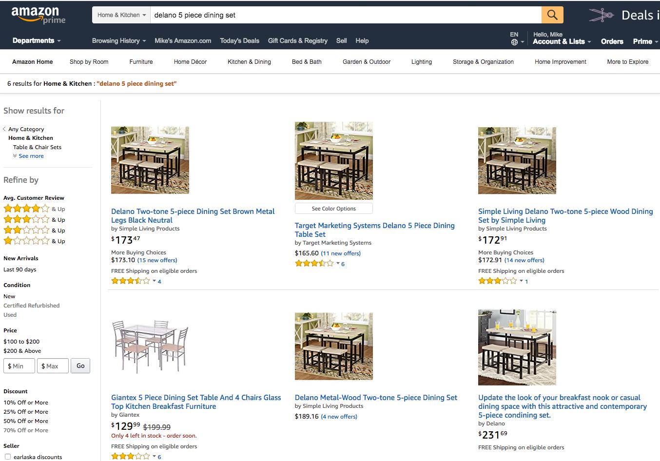 Wayfair Amazon Walmart And Sears All Sell The Same