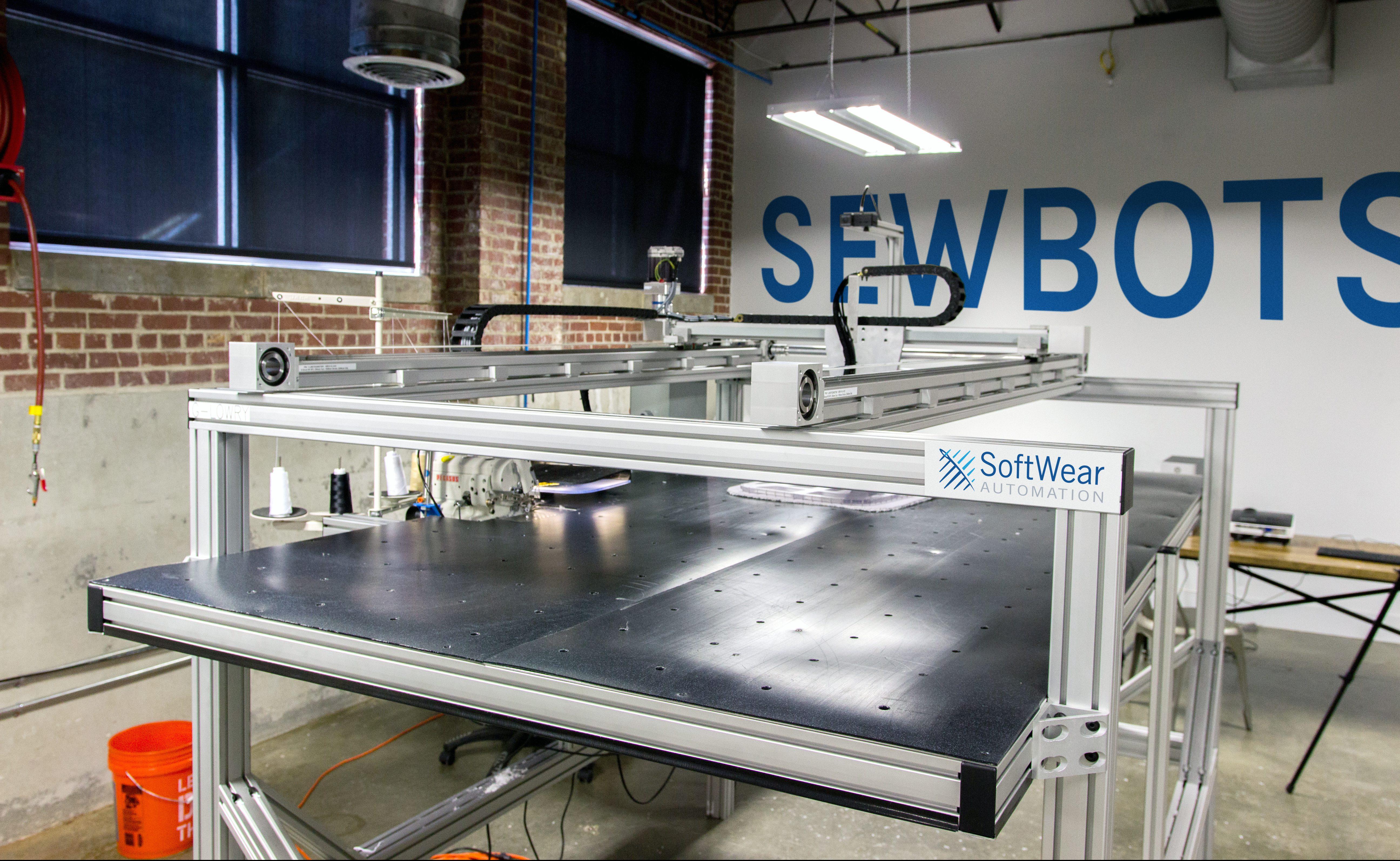 SoftWear Automation's sewbot