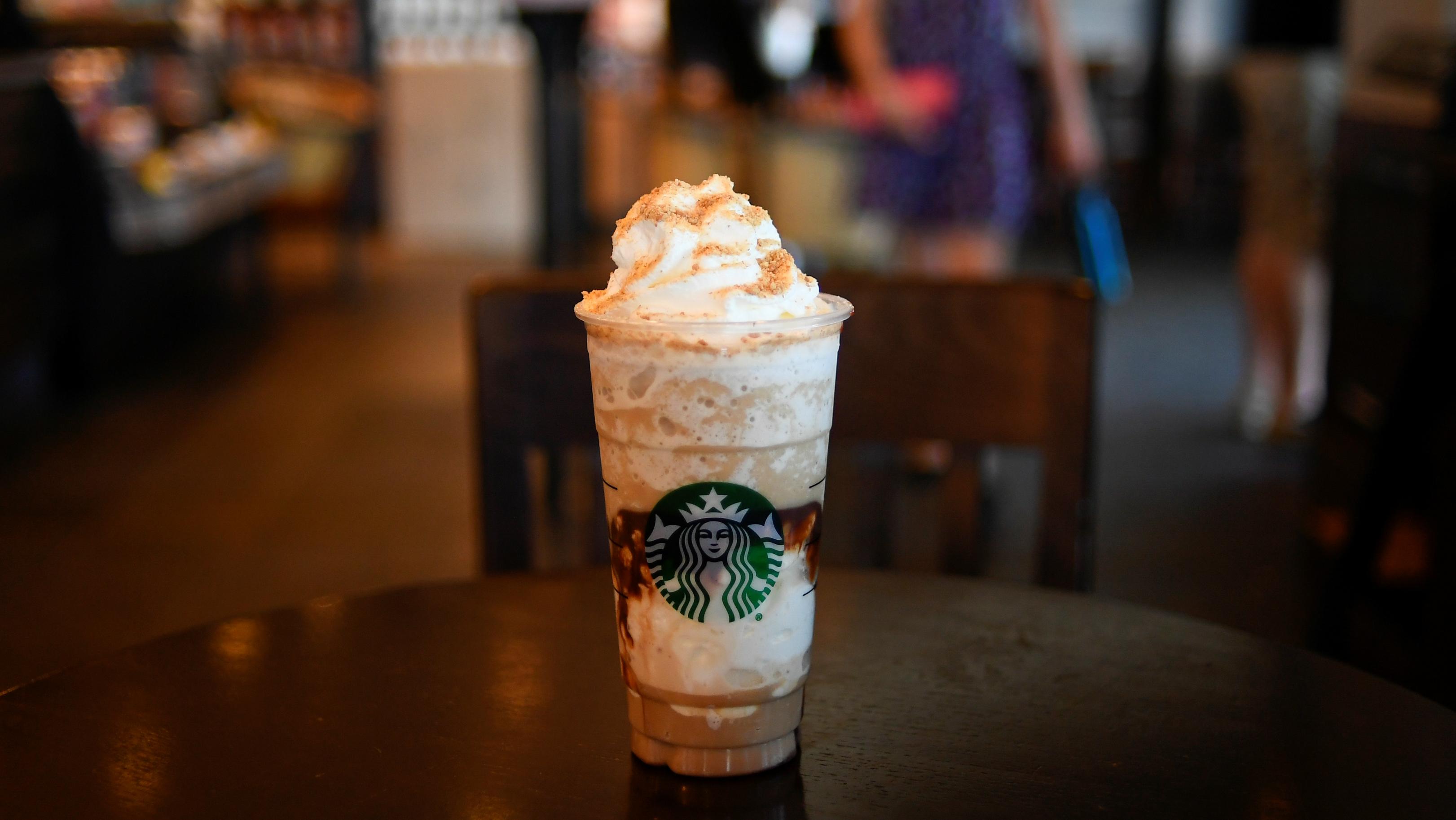 Starbucks saturation.