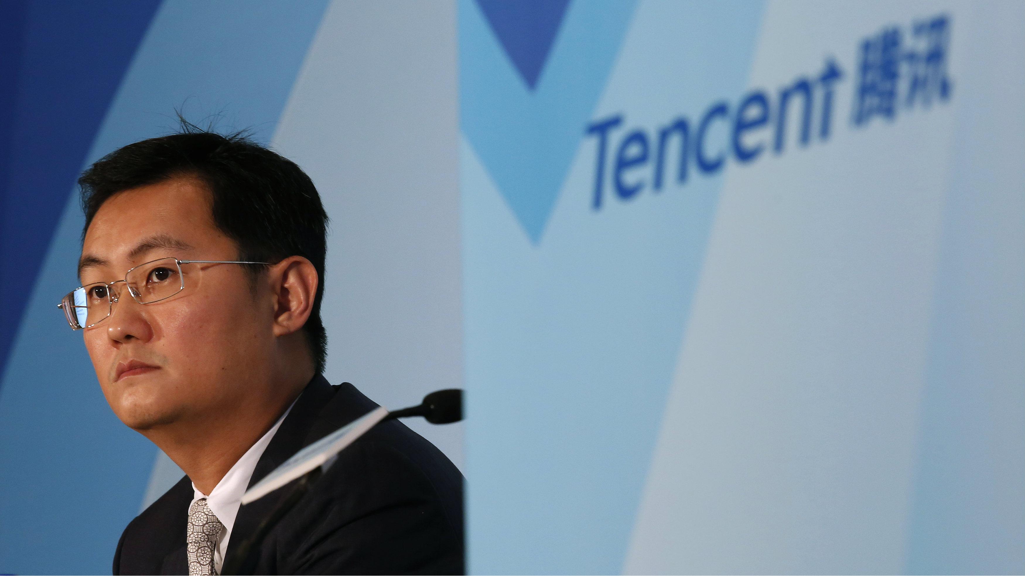 Tencent's Pony Ma (HKG: 0700), not Jack Ma or Wang Jianlin
