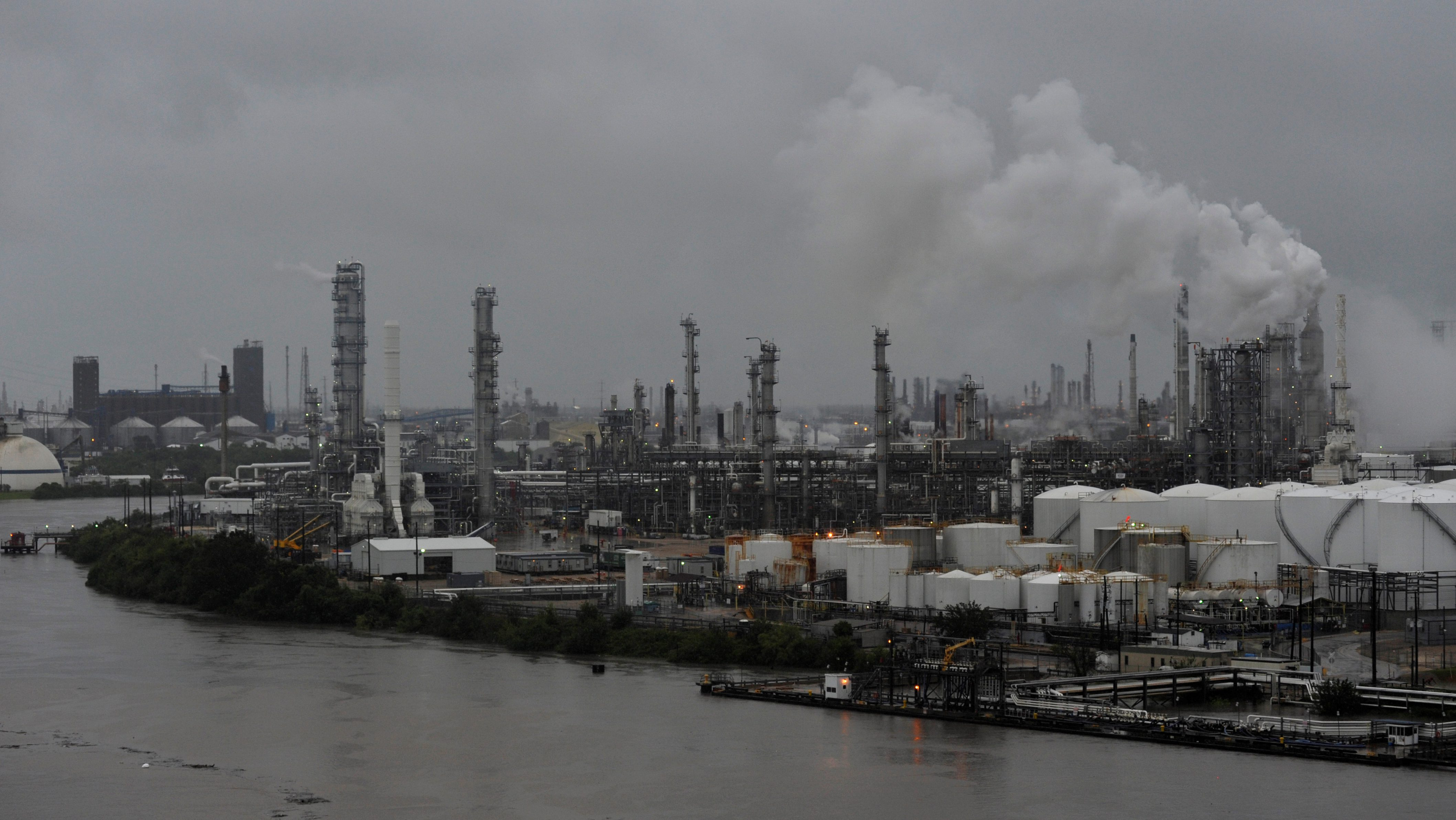 When refineries shut down, they typically emit far more toxins than normal.