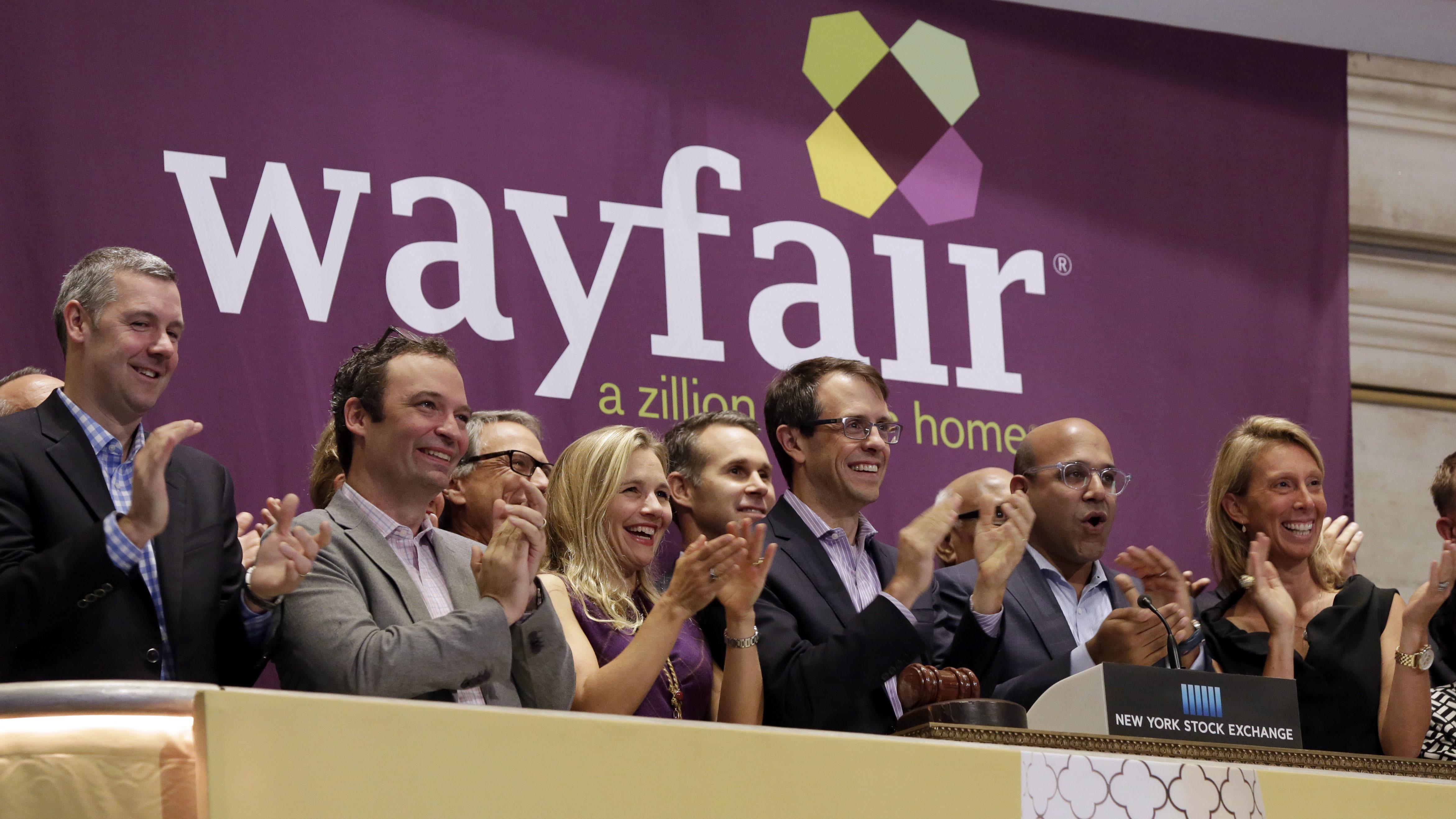 Wayfair, Amazon, Walmart, and Sears all sell the same