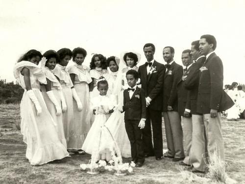 Wedding in 1984