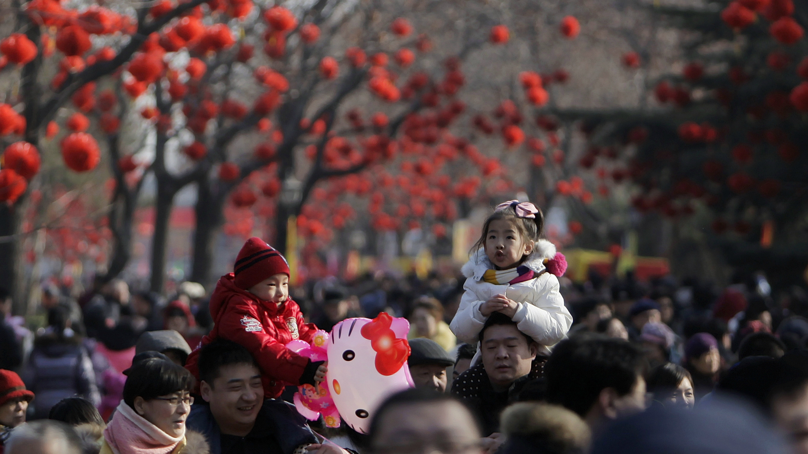 Chinese kids born in the year of the dragon are more