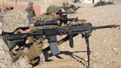 The US Marines finally have their first female infantry
