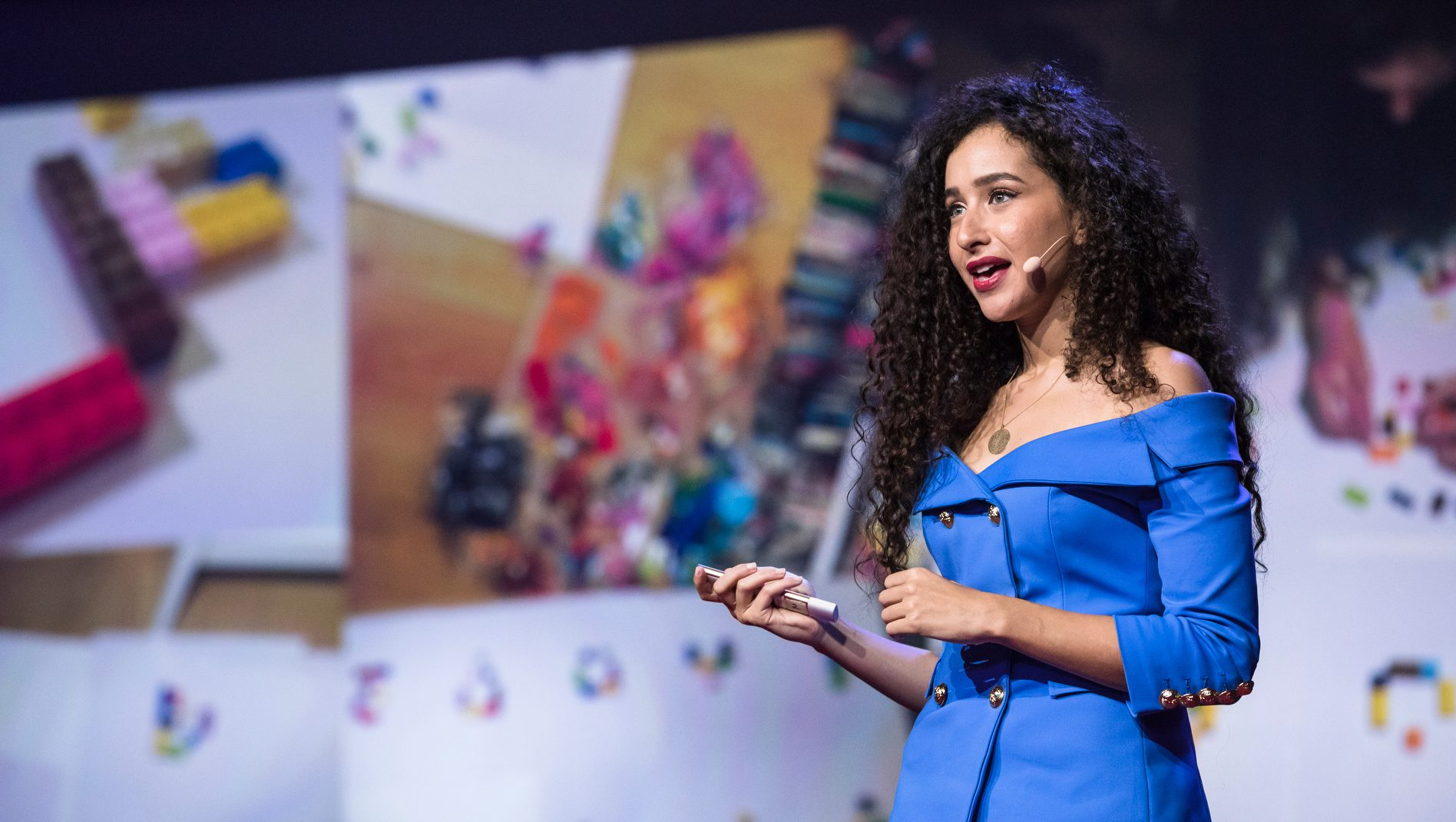 Ghada Wali speaks at TEDGlobal 2017 - Builders, Truth Tellers, Catalysts - August 27-30, 2017, Arusha, Tanzania.