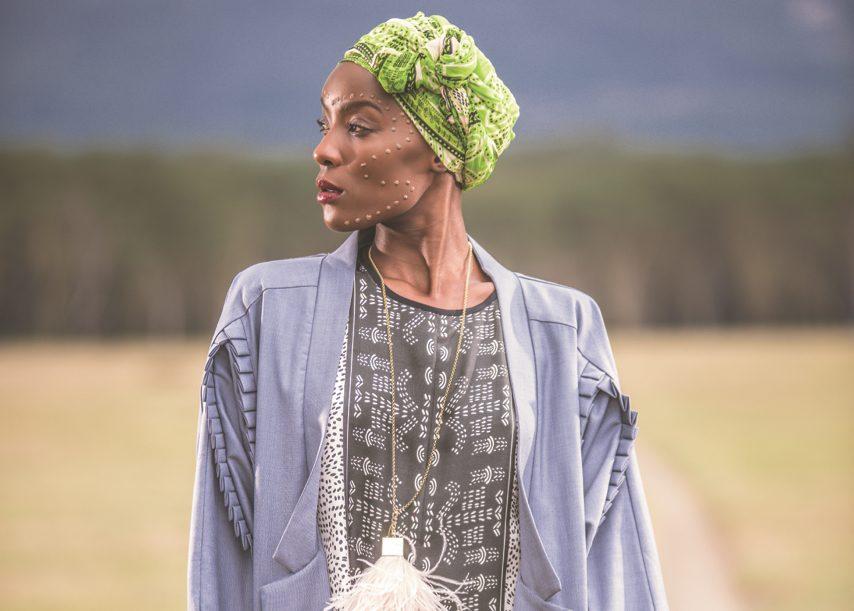Designs by Kenyan designer Anyango Mpinga.