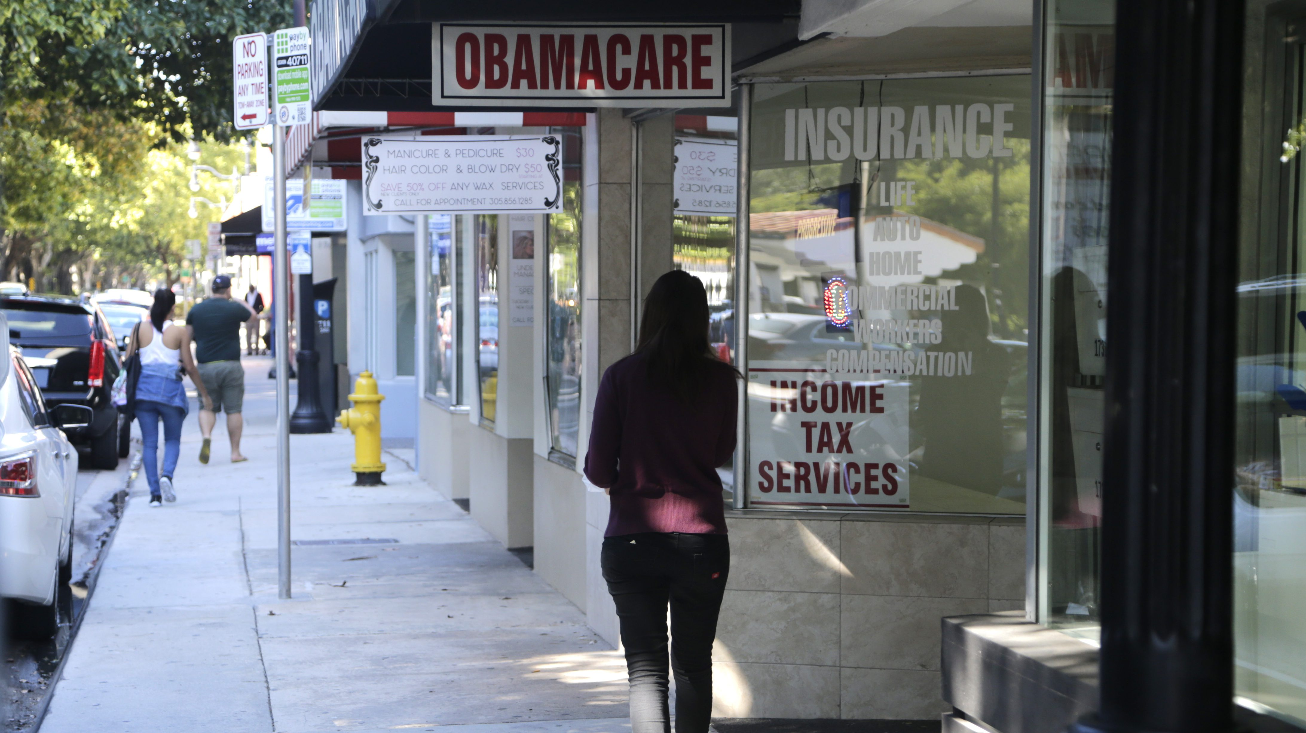 The Trump administration will keep enrolment guidance for Obamacare limited.
