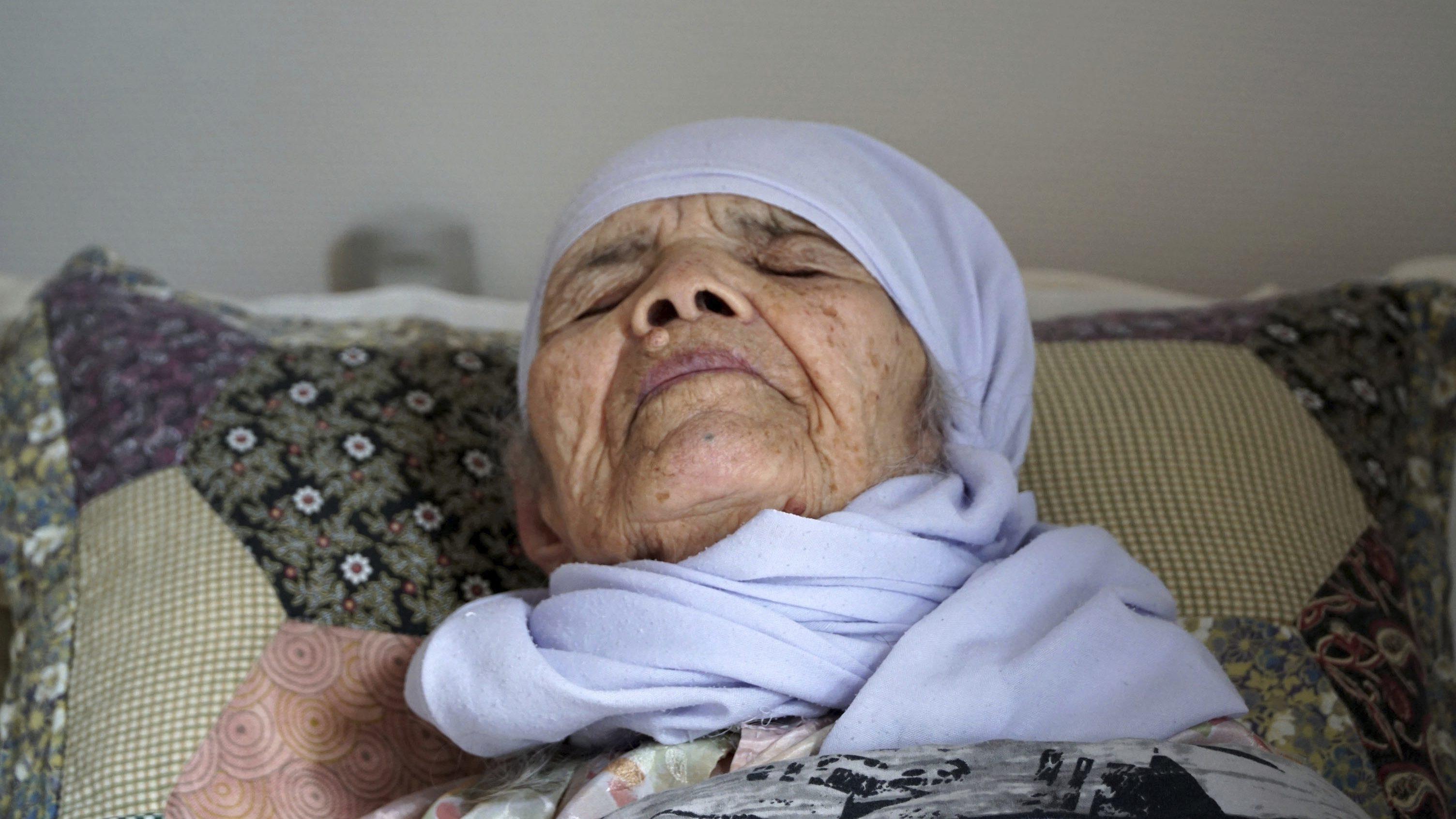 Sweden Centenarian Refugee