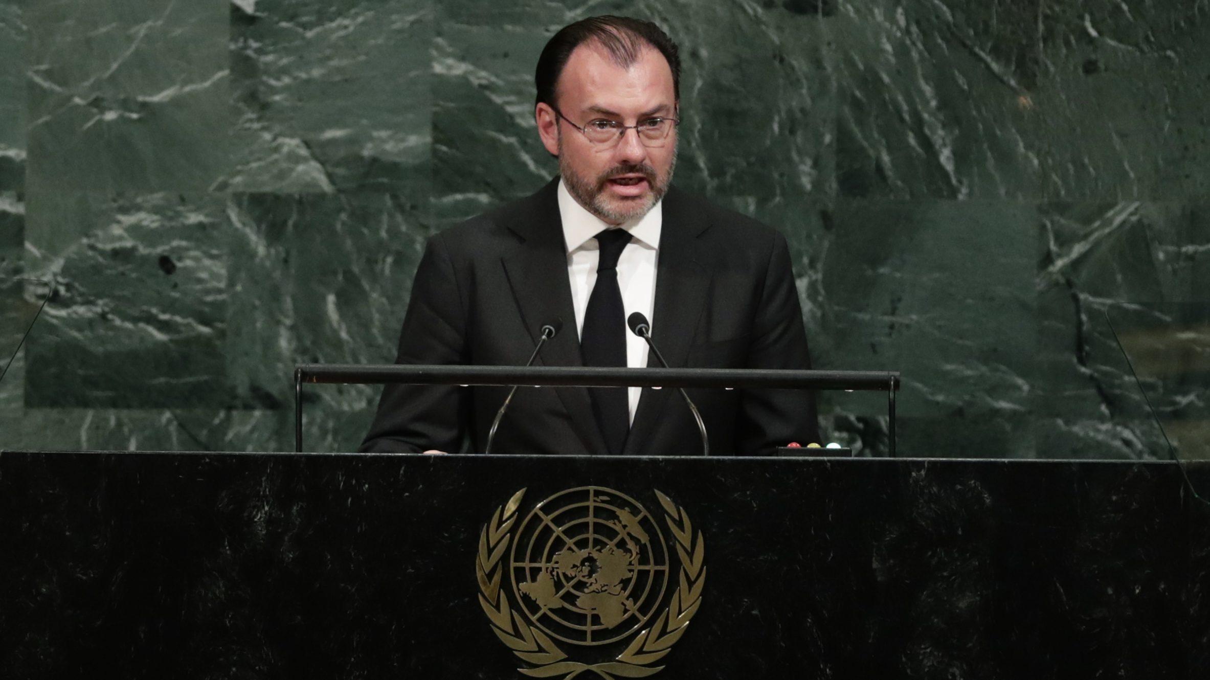 Former finance minister Videgaray was bullish about the economy.