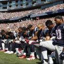 Texans Patriots Football NFL national anthem protests