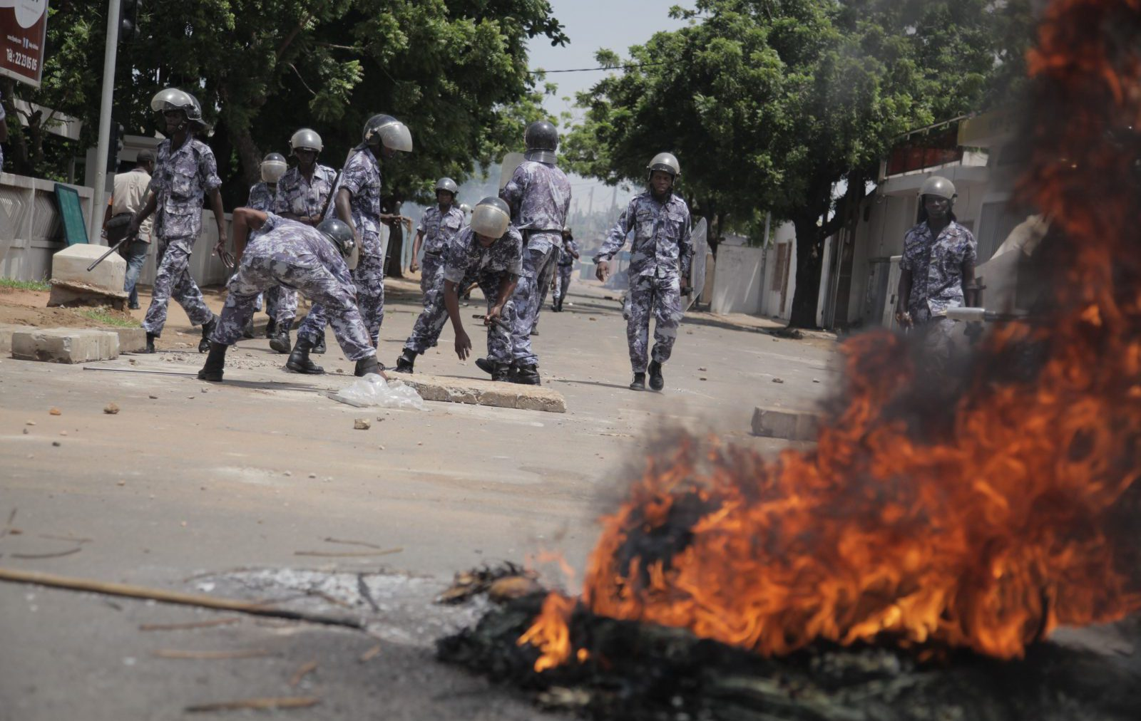 2013 Protests in Togo.