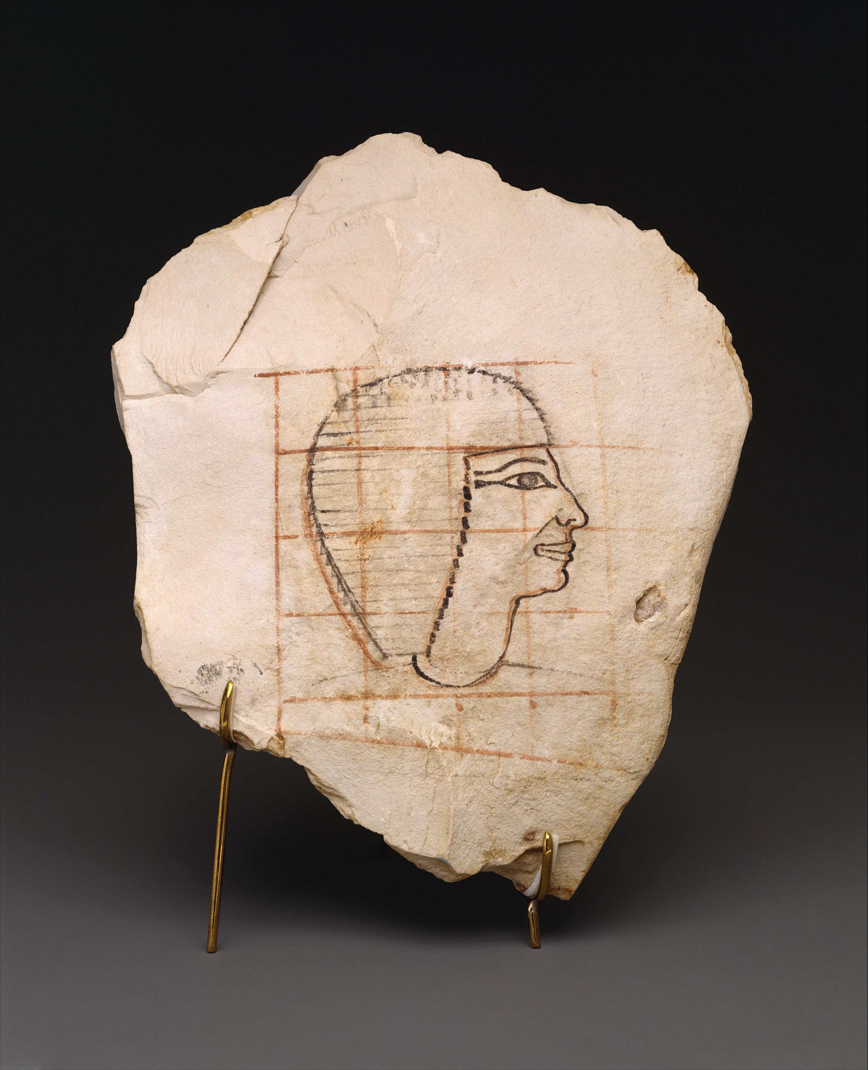 egyptian artist sketch