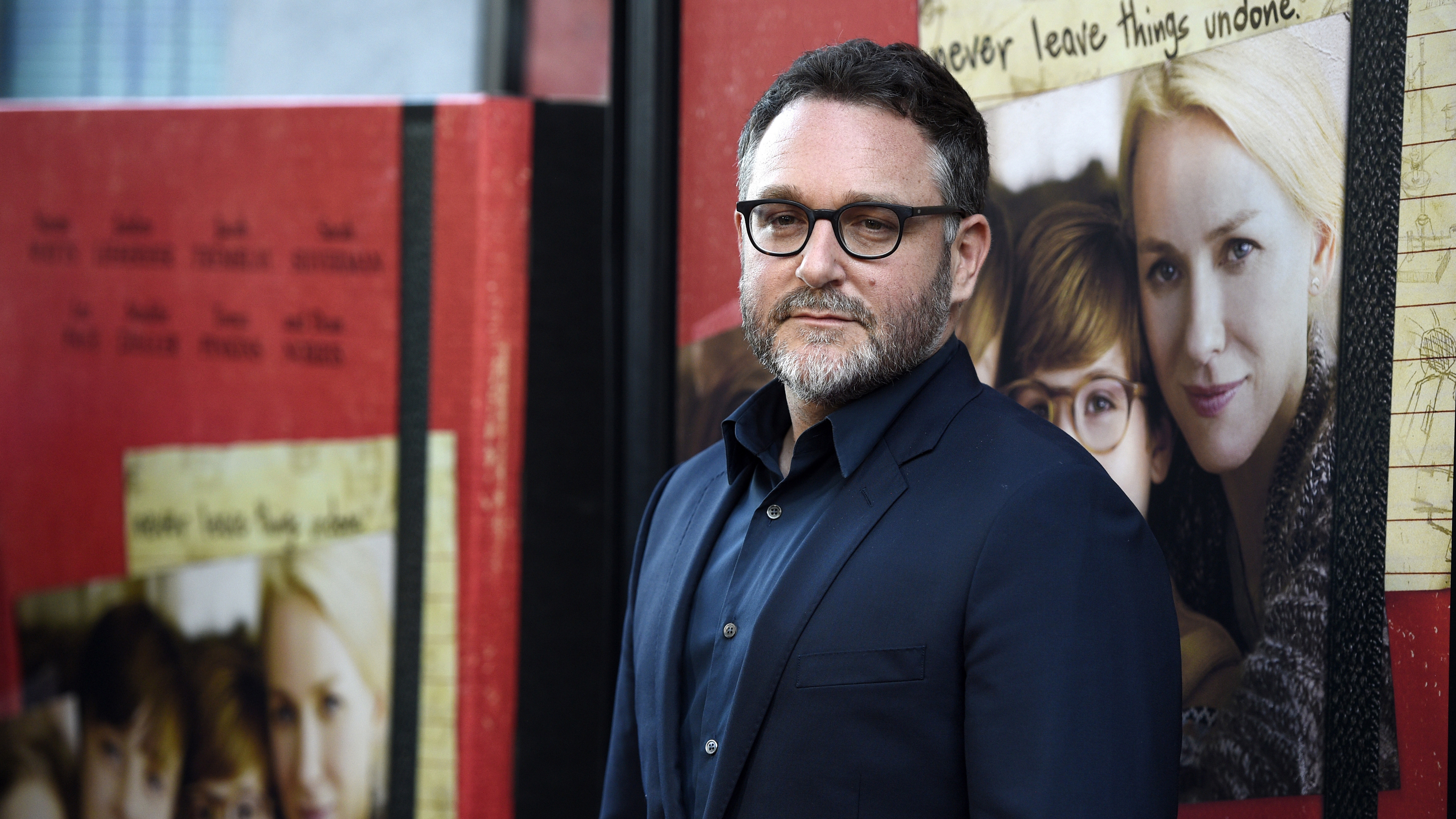 """FILE- In this June 14, 2017, file photo, , director of """"The Book of Henry,"""" poses at the premiere of the film on the opening night of the 2017 Los Angeles Film Festival at the ArcLight Culver City in Culver City, Calif.  Trevorrow will no longer be directing """"Star Wars: Episode IX."""" Lucasfilm said Tuesday, Sept. 5, that the company and the director have mutually chosen to part ways citing differing visions for the project. (Photo by Chris Pizzello/Invision/AP, File)"""