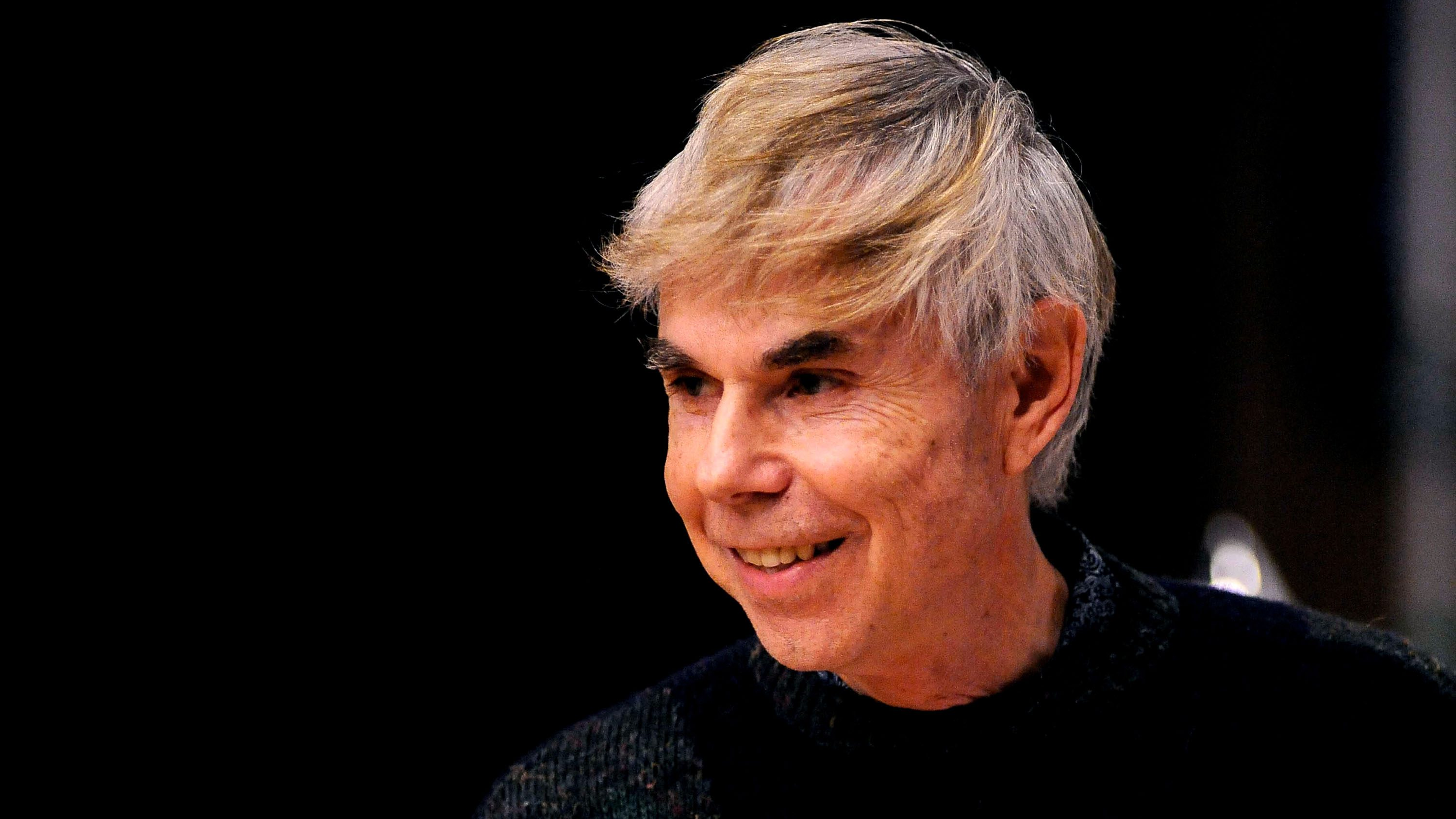 "American philosopher and author Douglas Hofstadter hold his  Lectio Magistralis ""Around Aestheics of Mathematics"" after receiving an honorary degree by Universit? degli Studi di Bologna at Stabat Mater Hall of Archiginnasio on May 28, 2013 in Bologna, Italy."