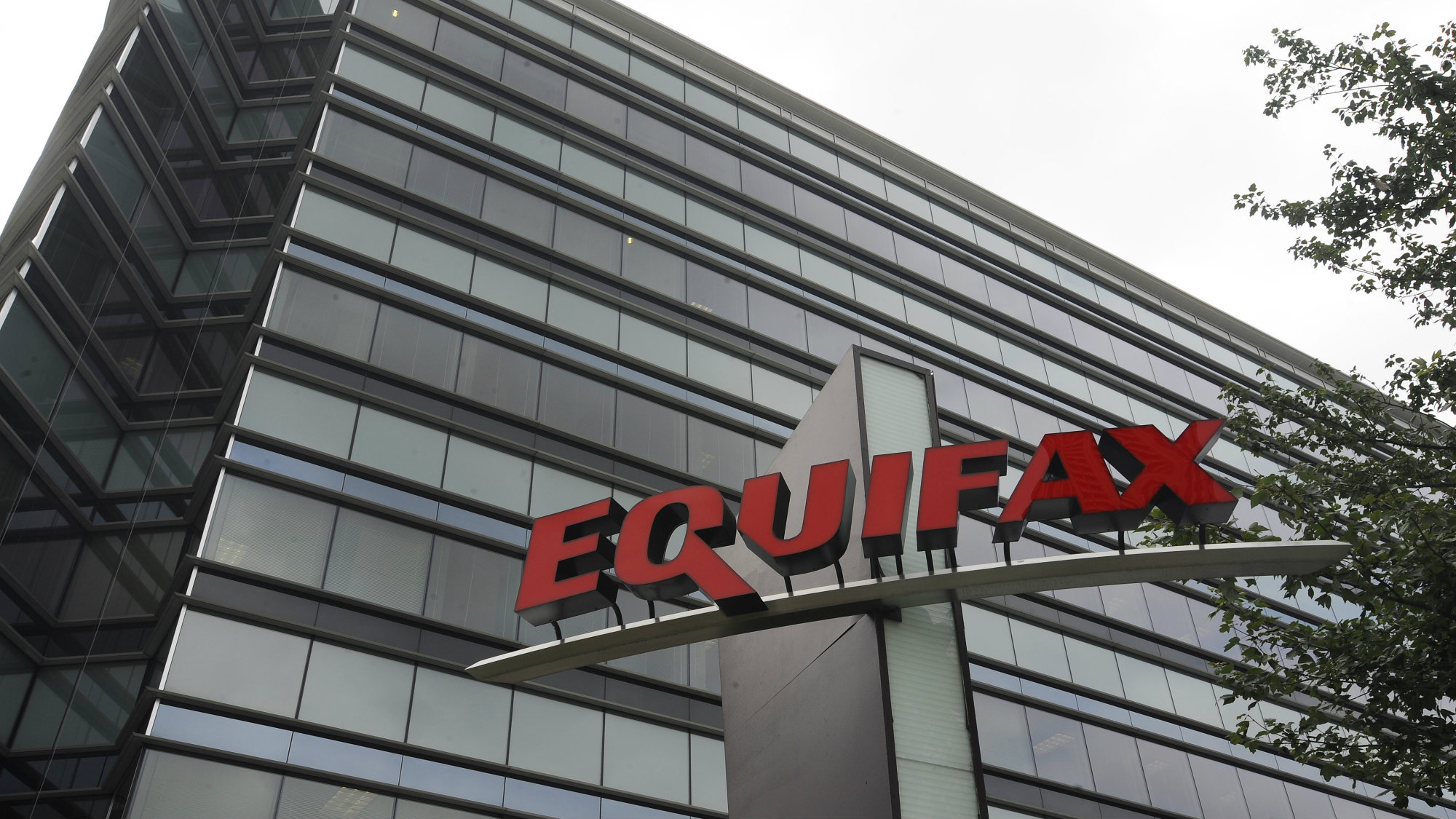 This July 21, 2012, file photo shows Equifax Inc., offices in Atlanta.