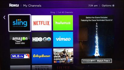Netflix is the most-streamed app on Roku, but barely brings