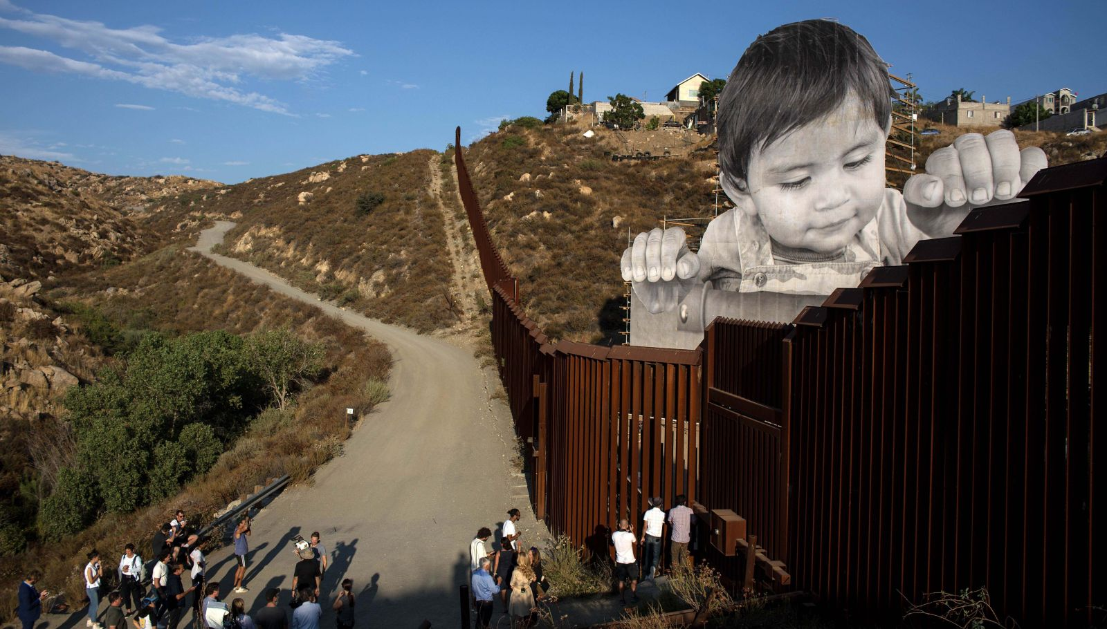 Jr At The Border The Artist S Newest Work At Us Mexico