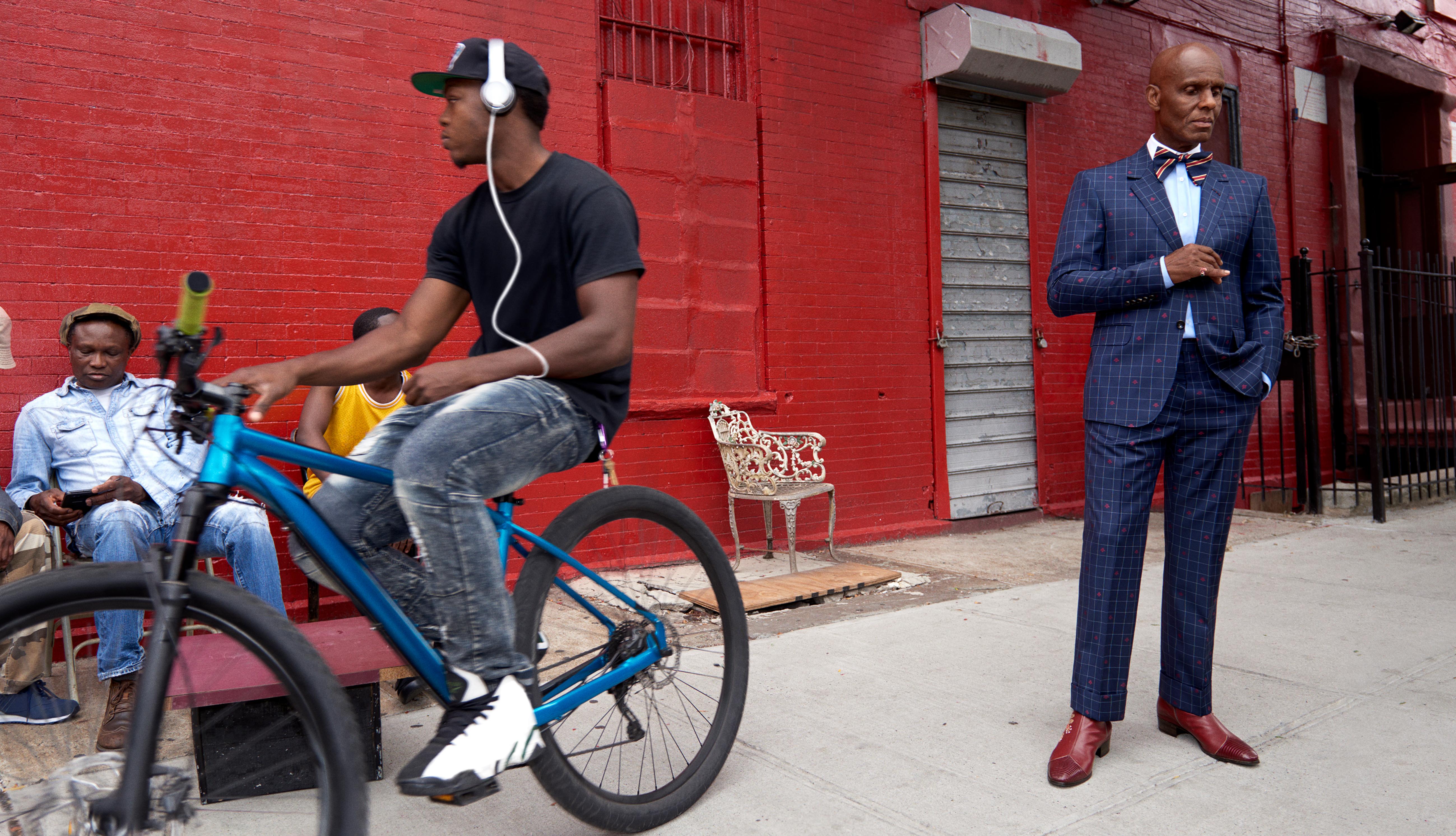 Gucci fall-winter '17 men's tailoring campaign