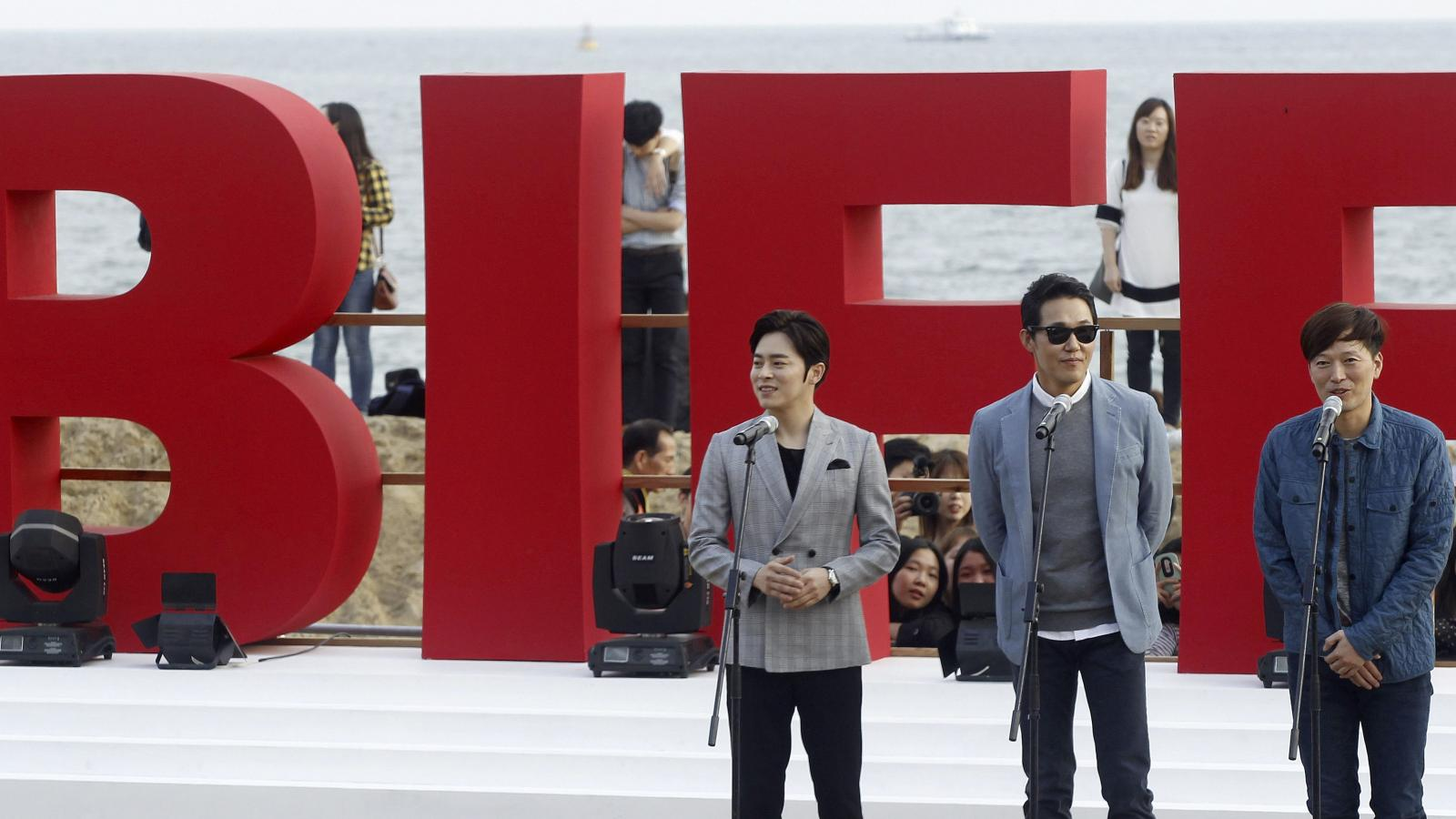 South Korea's Busan film festival is emerging from under a dark