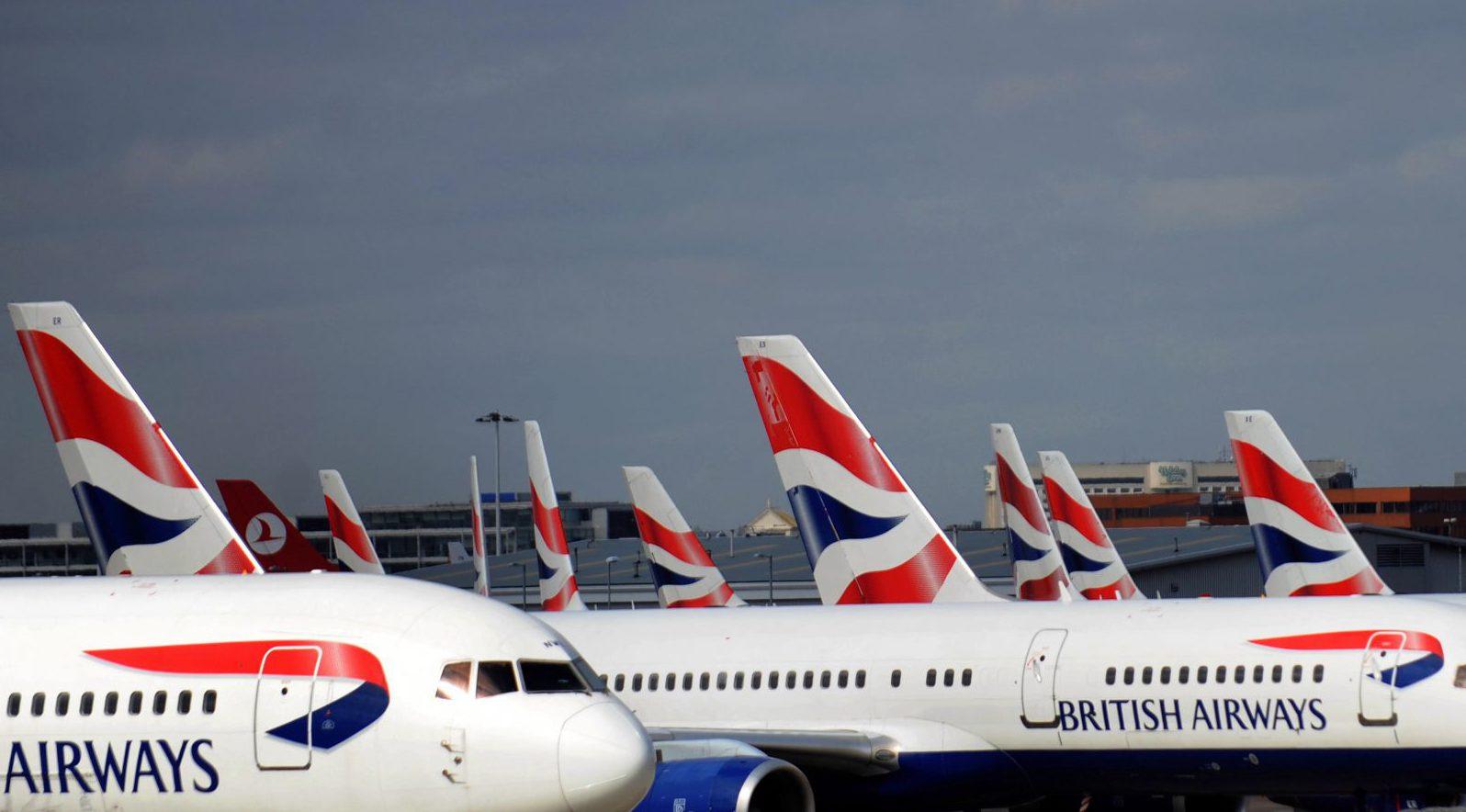 British Airways flight attendant.