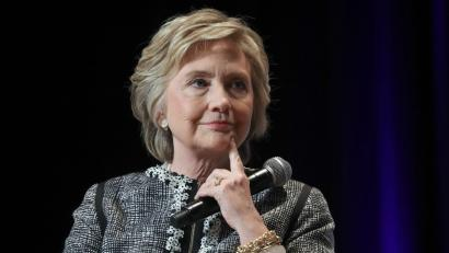 US Former First Lady and Democratic Presidential candidate Hillary Clinton speaks at BookExpo 2017 at the Jacob K. Javits Convention Center, in New York, New York, USA, 01 June 2017.