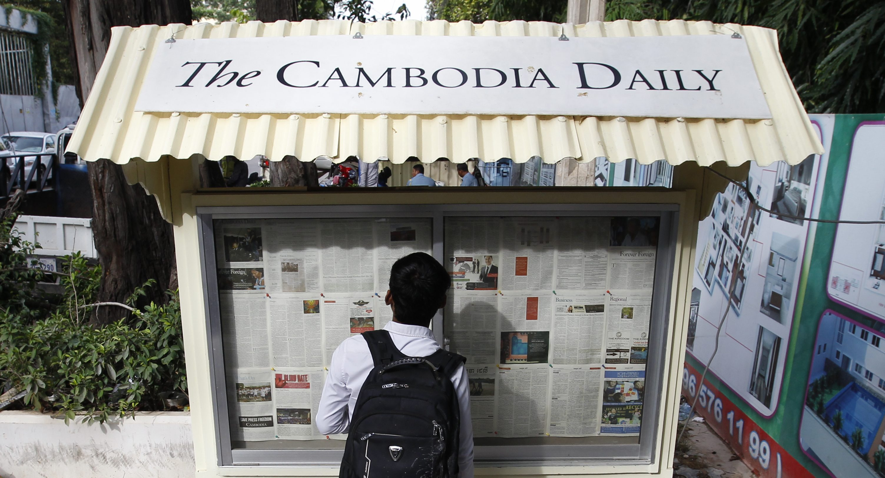 Government closes the Cambodia Daily Newspaper