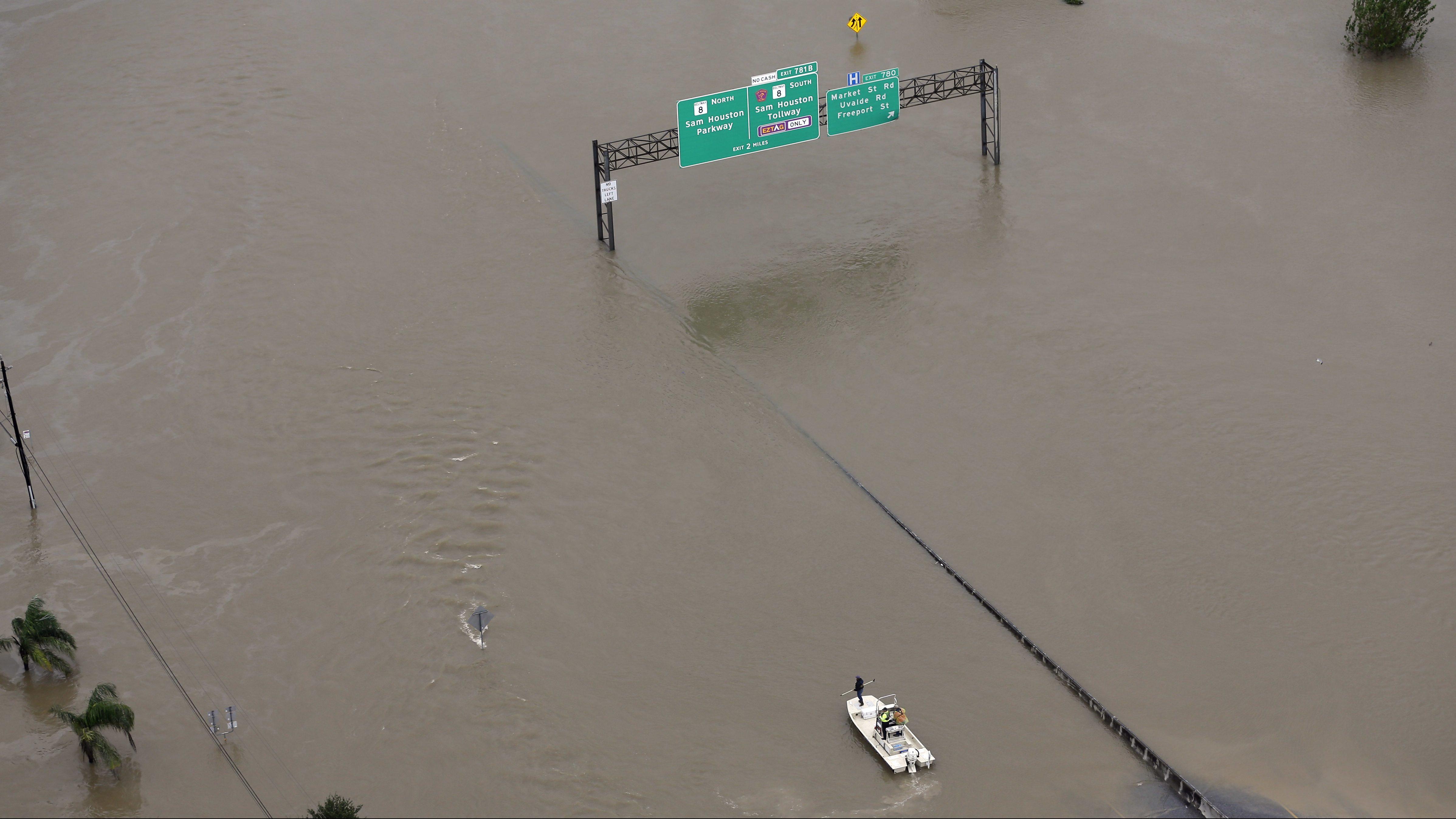 I-10 Flooding in houston
