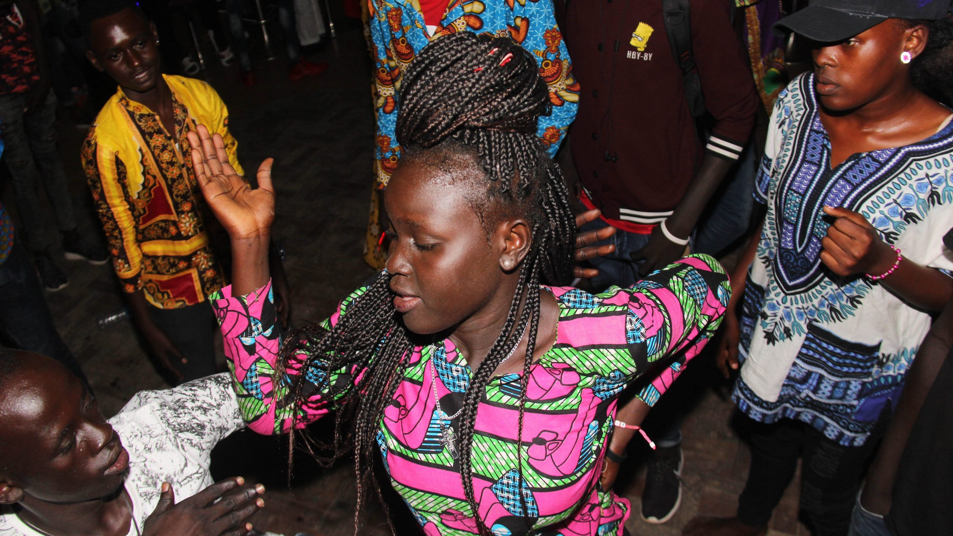 A day party held at Club Signature in Juba, South Sudan.